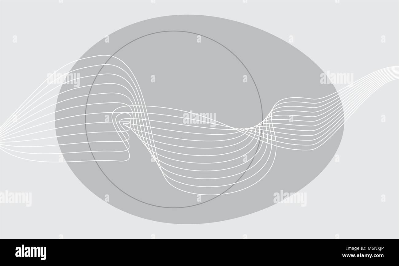 Simple Elegant Line Art : Simple elegant modern easter background with grey copy space stock