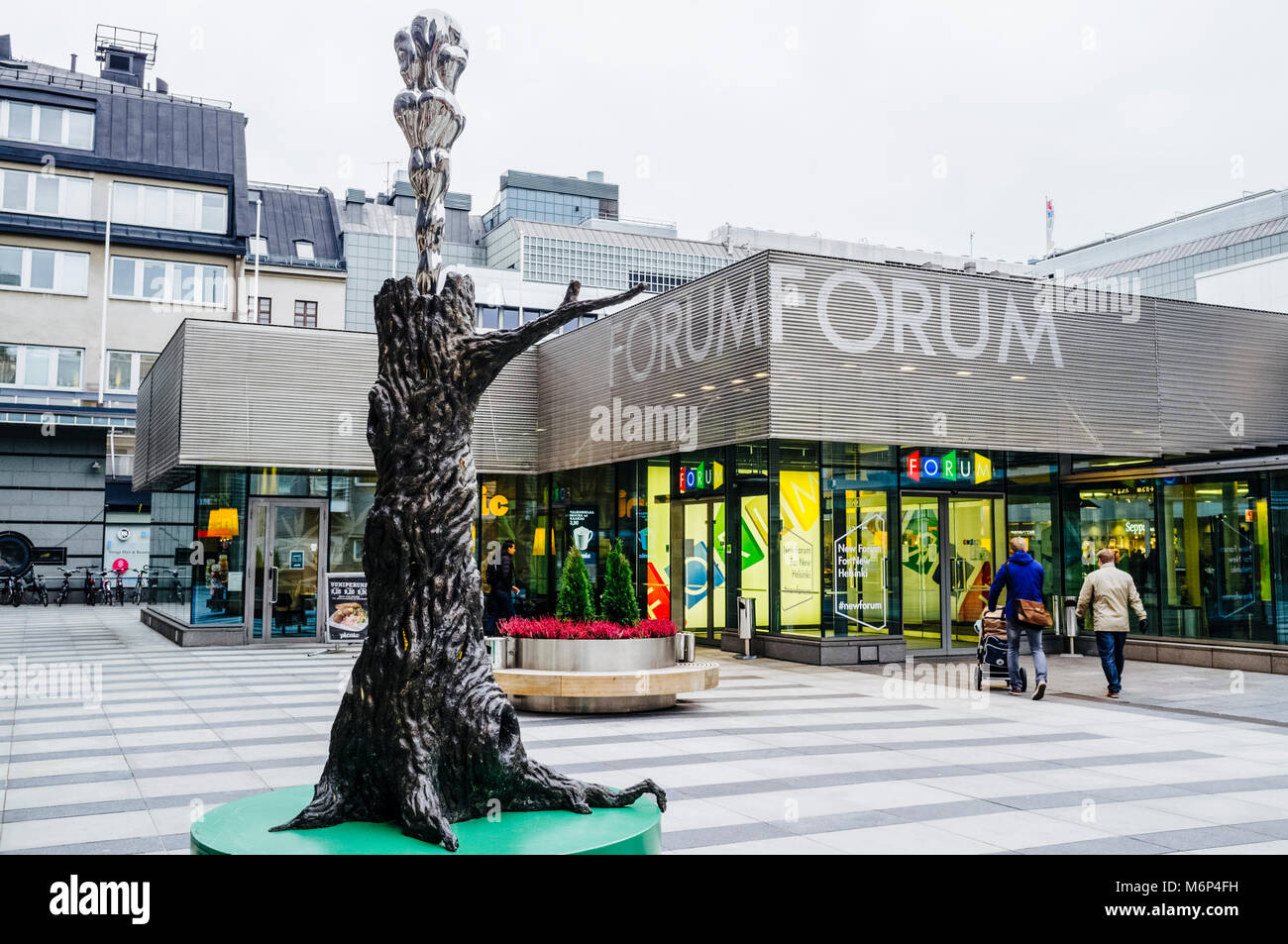 Forum department store, Helsinki, Finland - Stock Image
