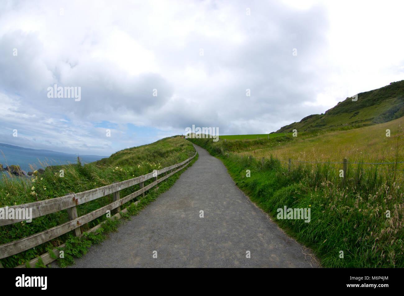 Giant's Causeway, Ireland - Stock Image