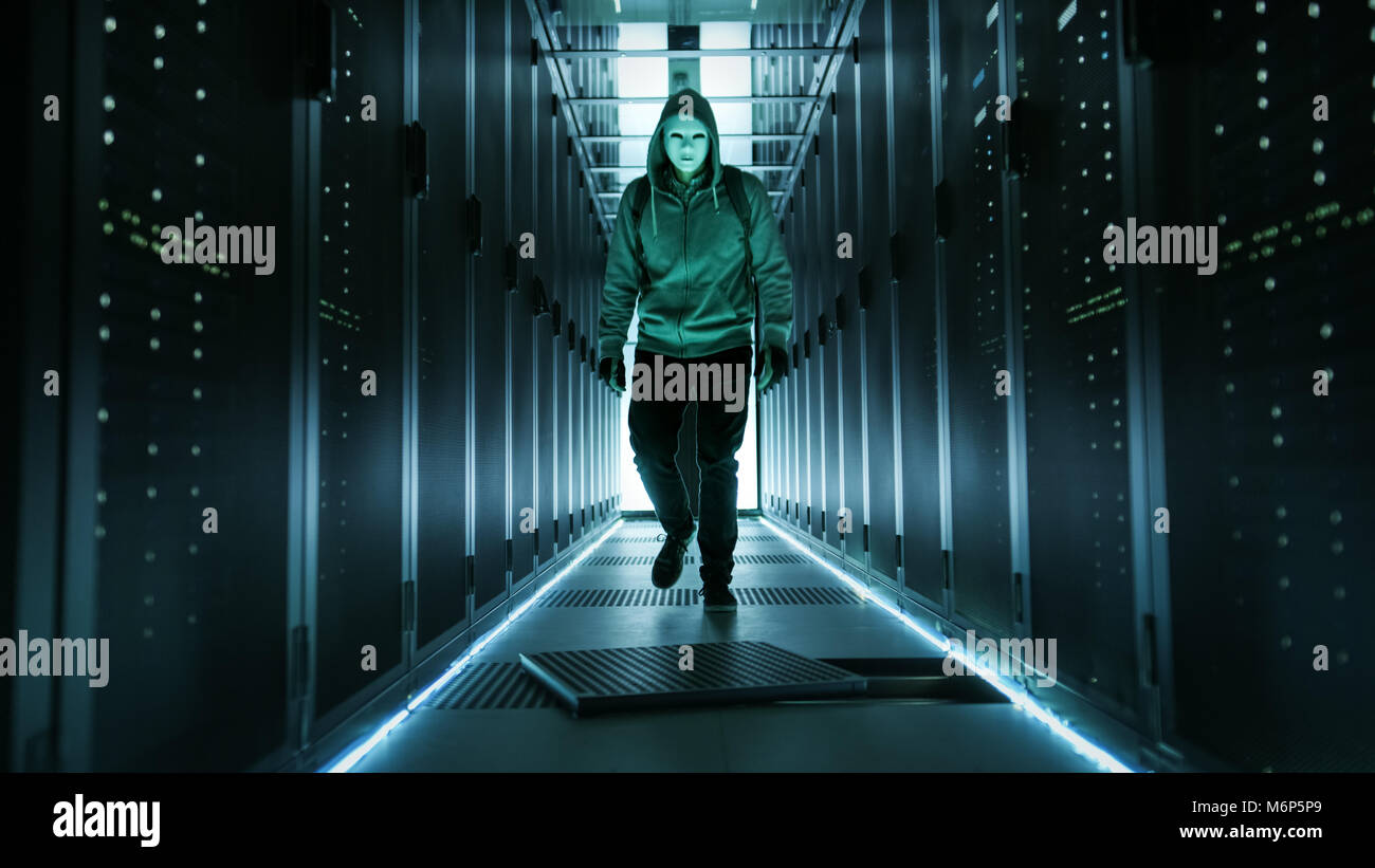 Computer Hacker Anonymous Mask Stock Photos Amp Computer