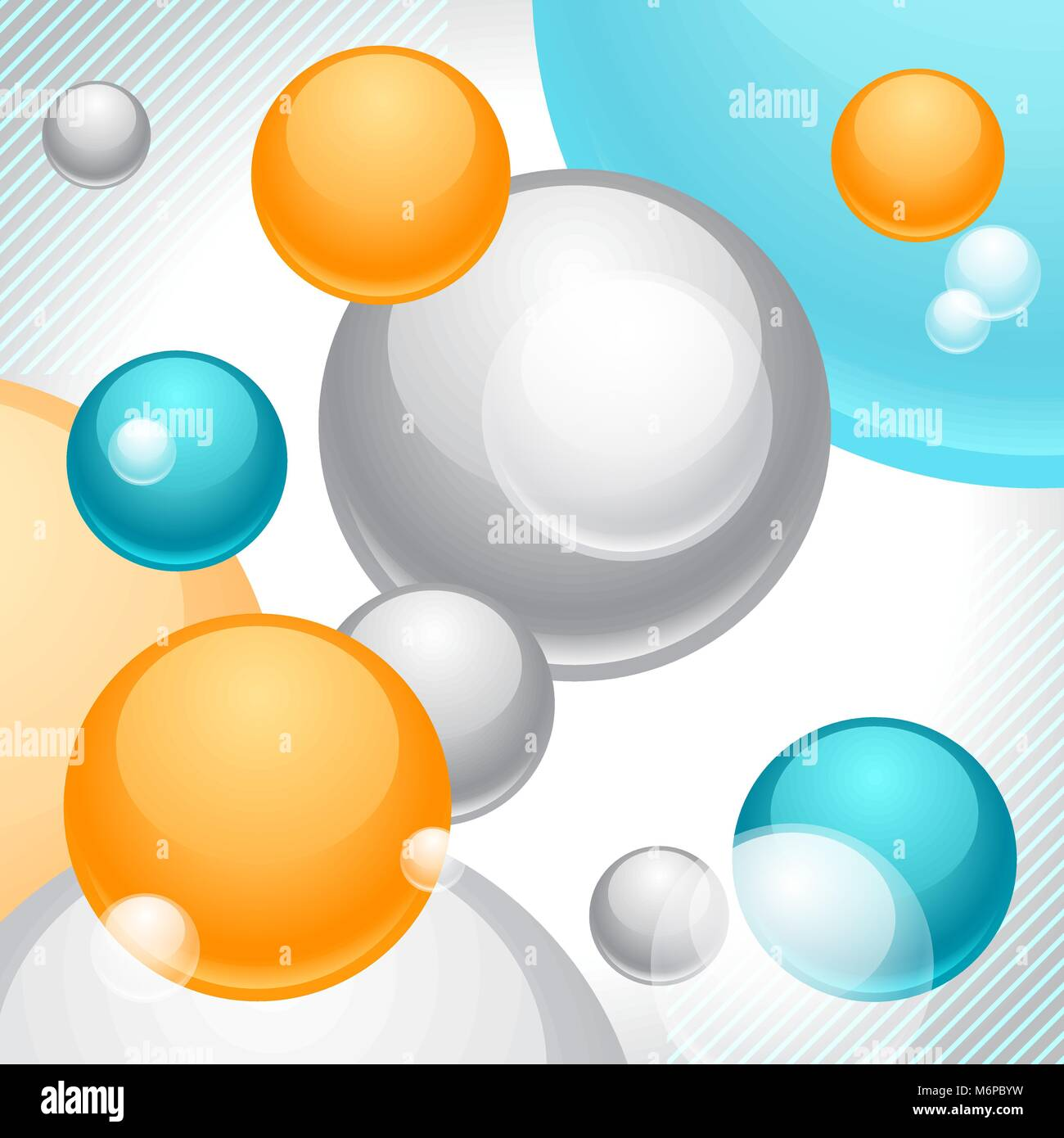 Abstract geometric background, design template - Stock Vector
