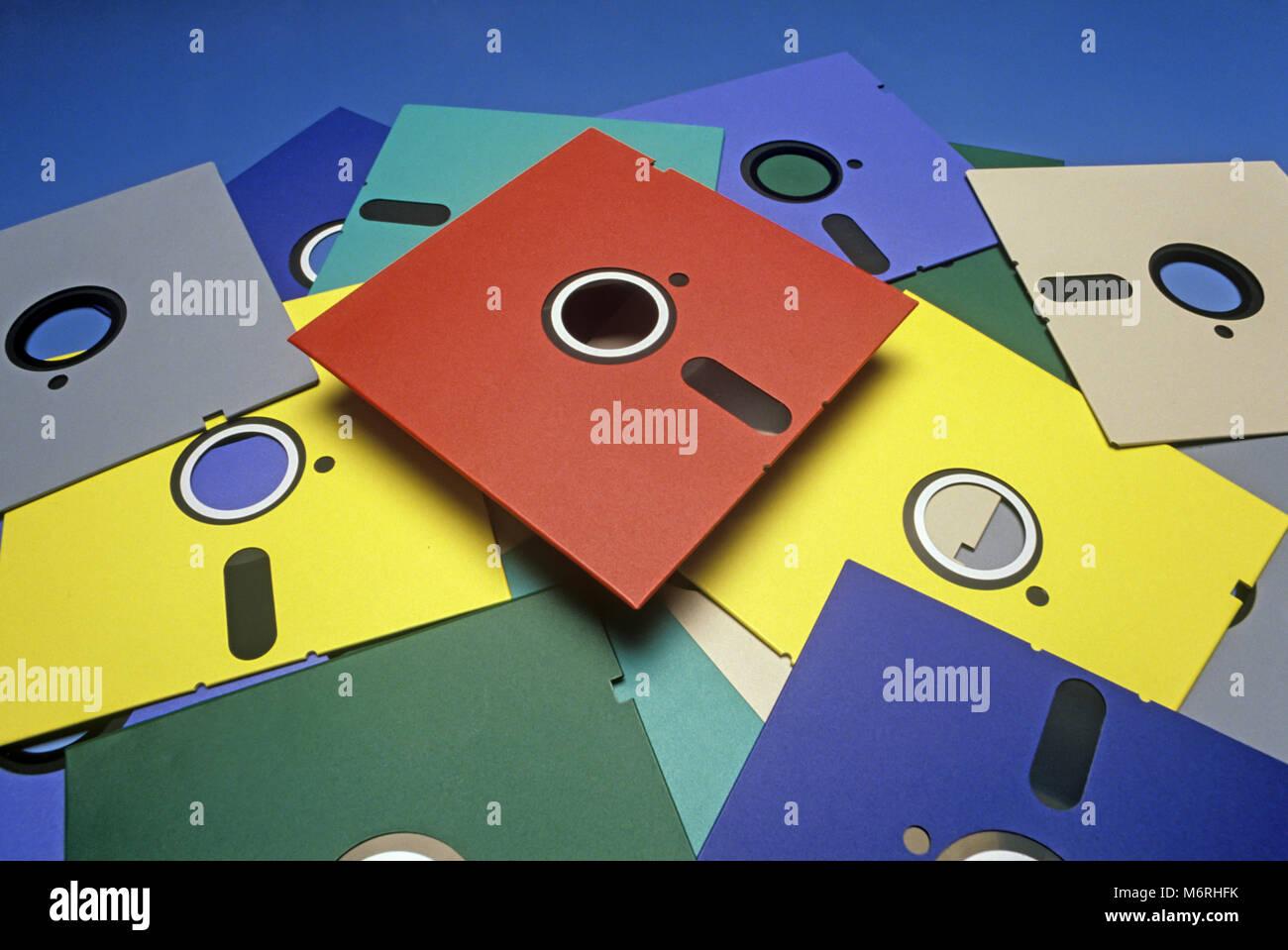 Obsolete Floppy Discs Stock Photos Obsolete Floppy Discs
