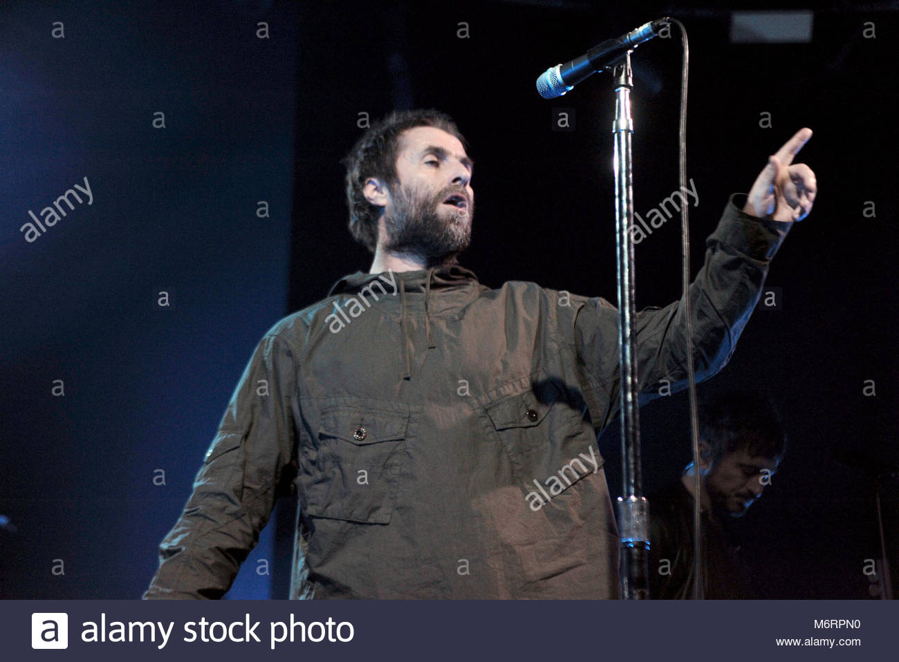 liam gallagher in concert, milan 26-02-2018 - Stock Image