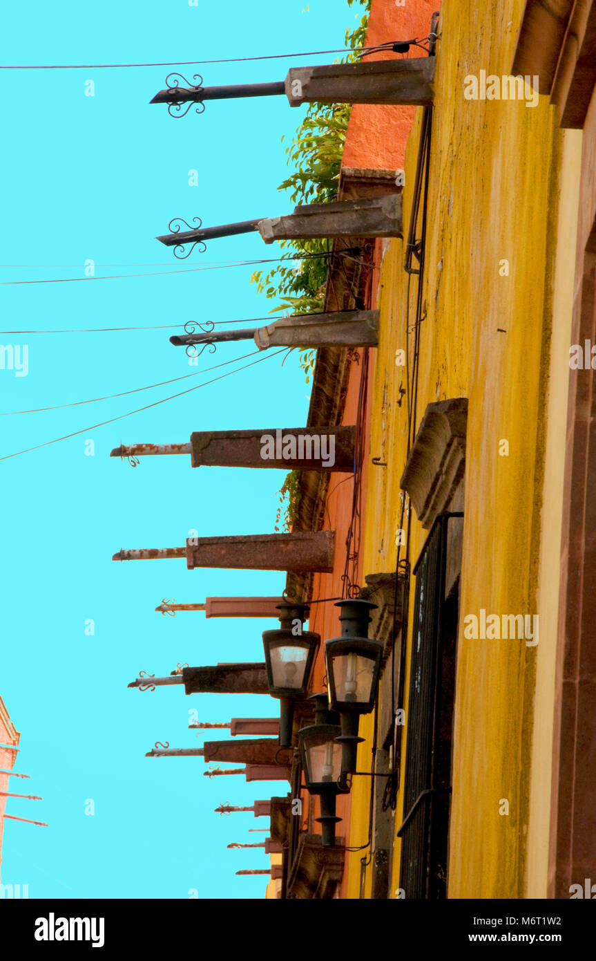 San Miguel de Allende a city in Central Mexico. Stock Photo