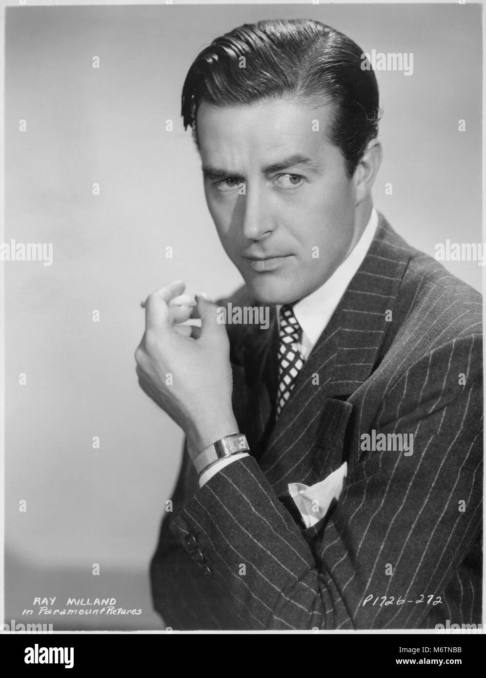 Ray Milland High Resolution Stock Photography and Images - Alamy