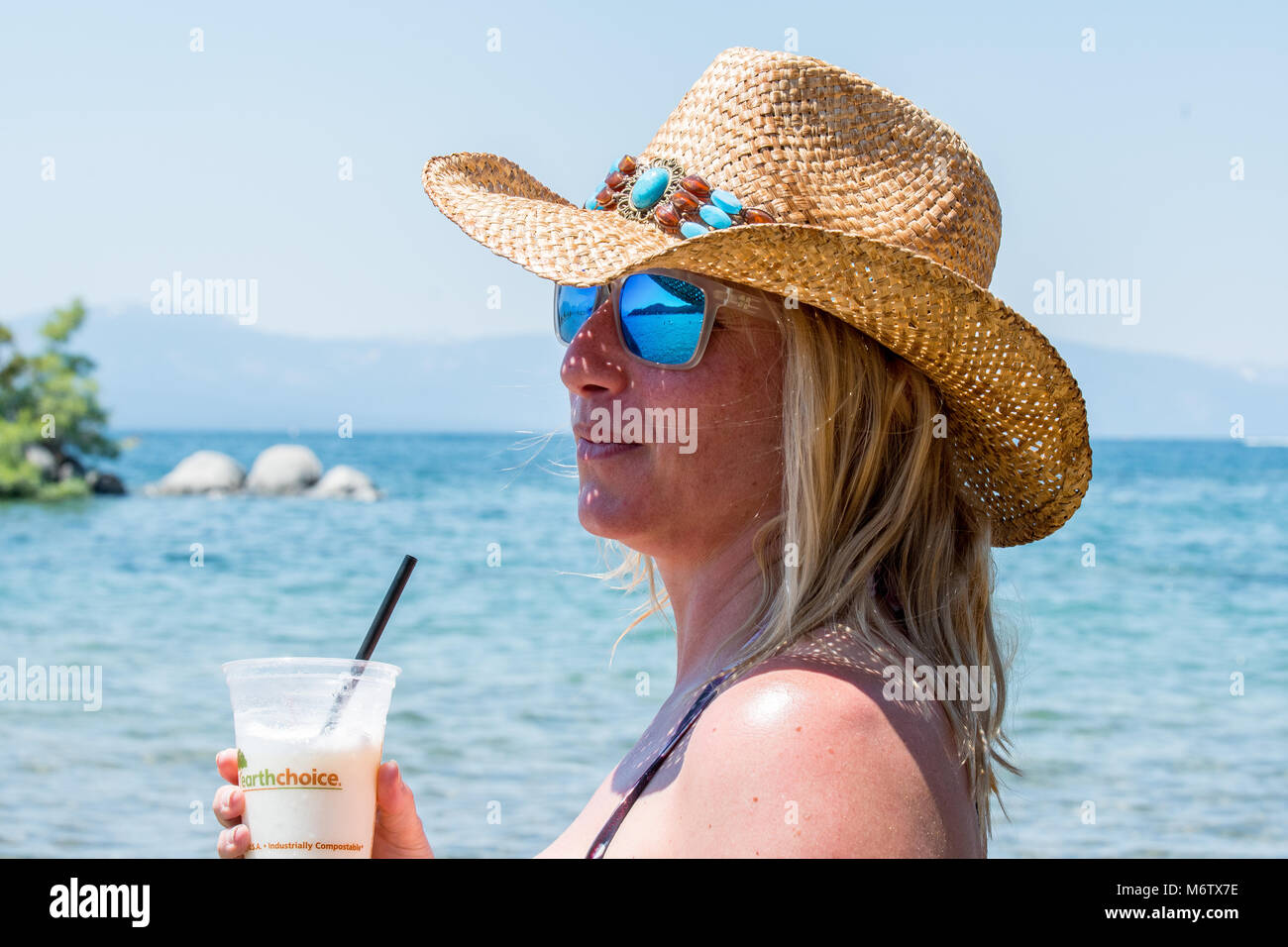 staying cool - Stock Image