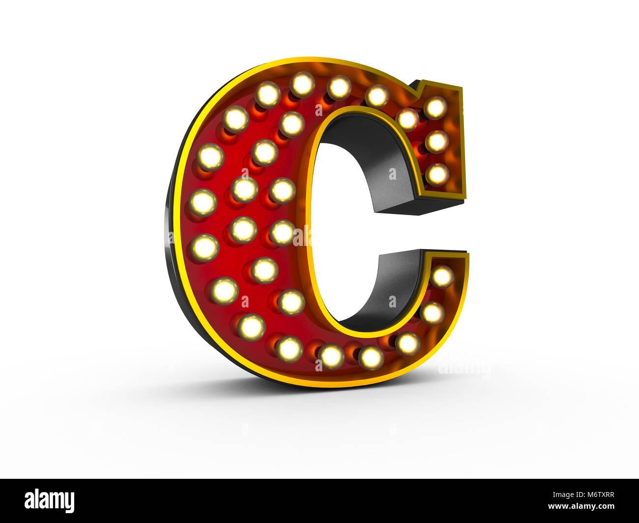 Illuminated Letter C Stock s & Illuminated Letter C Stock
