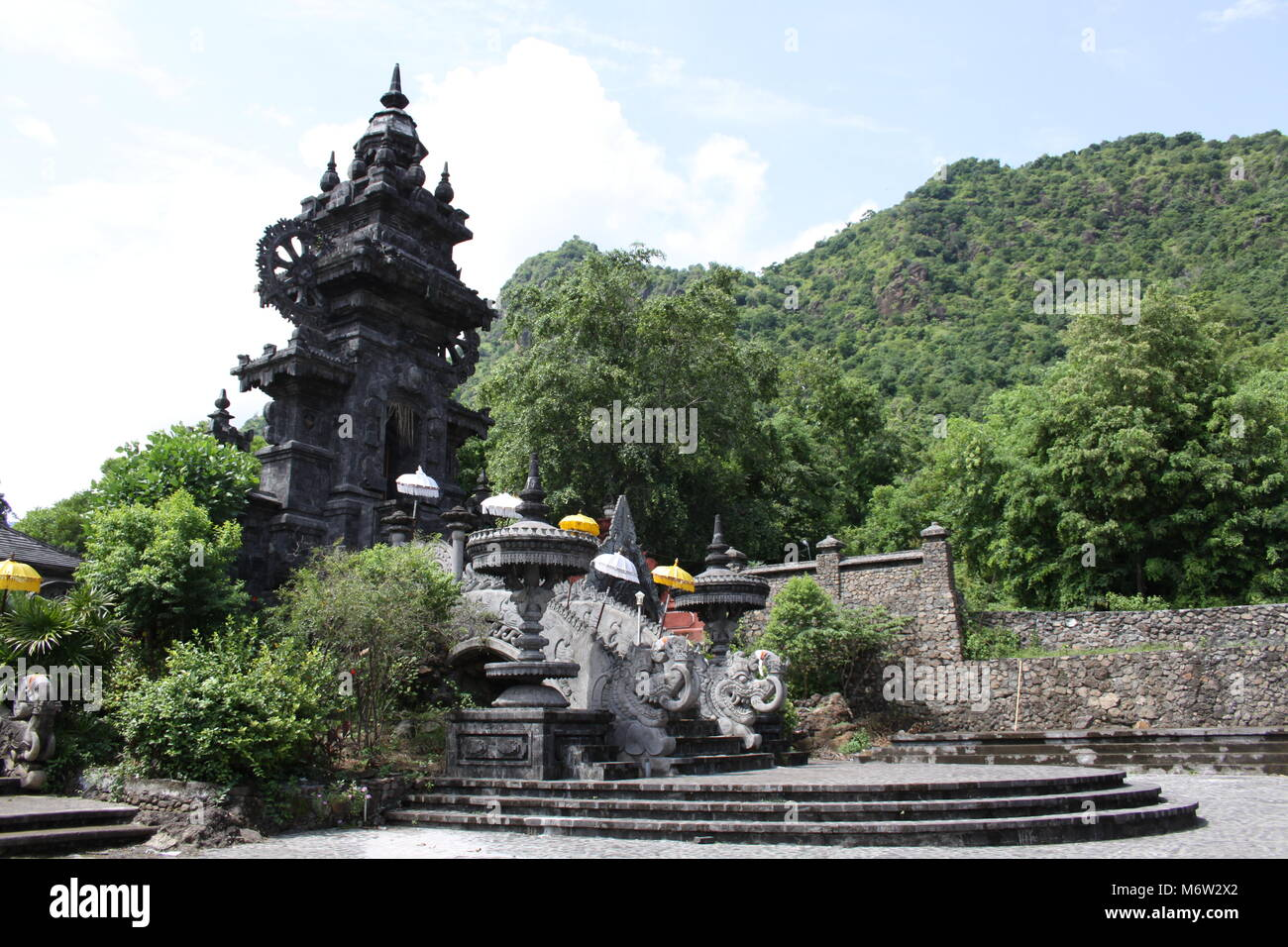 Pura Melanting temple in the north west of Bali - Stock Image