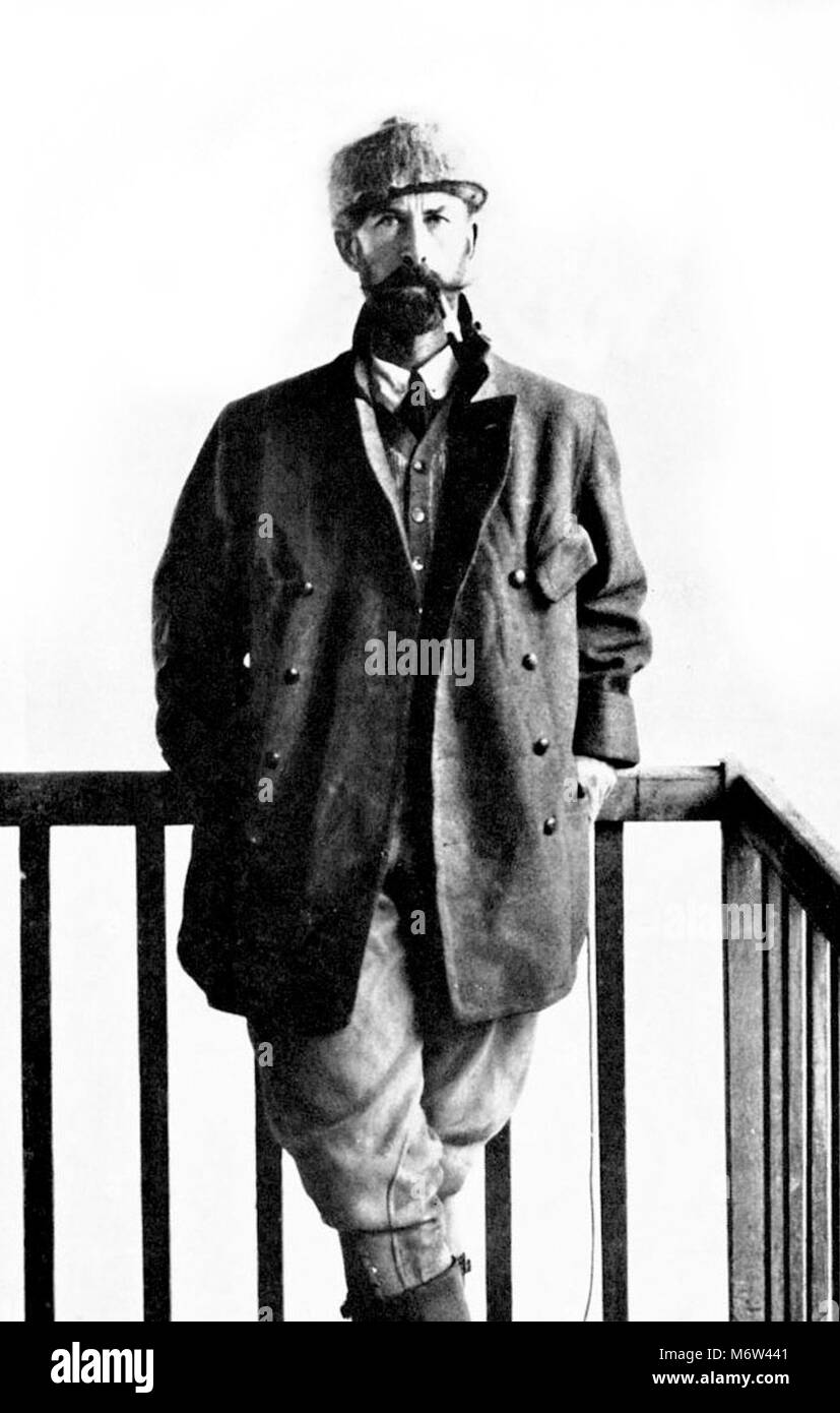 Percy Fawcett (1867-c.1925). Portrait of the British archaeologist and explorer, Lieutenant Colonel Percival Harrison - Stock Image