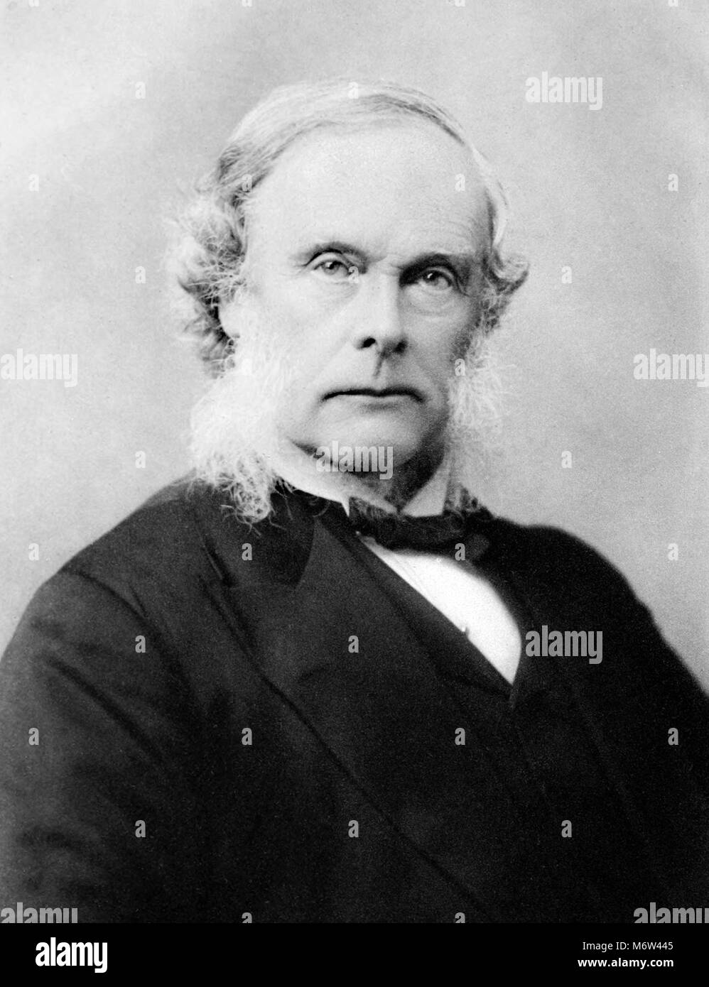 Sir Joseph Lister (1827-1912). Portrait of the British surgeon dating from 1909. - Stock Image