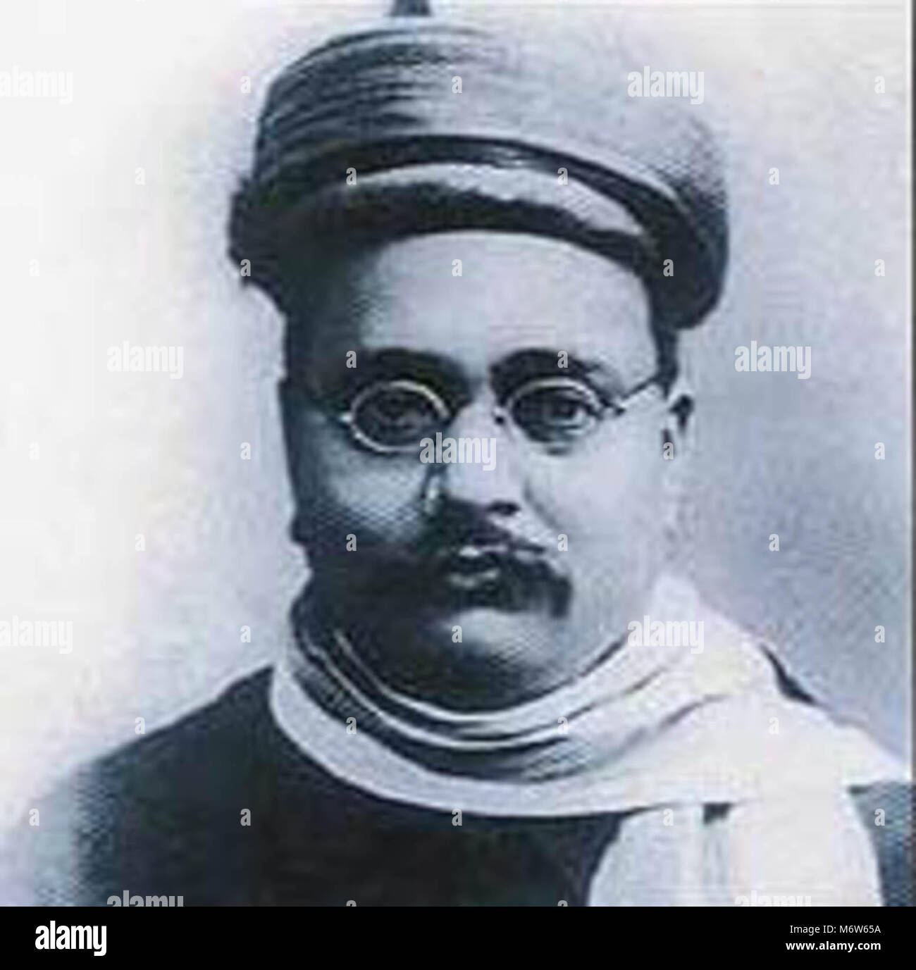 Gopal Krishna Gokhale, a constitutional social reformer and moderate nationalist, was elected president of the Indian - Stock Image
