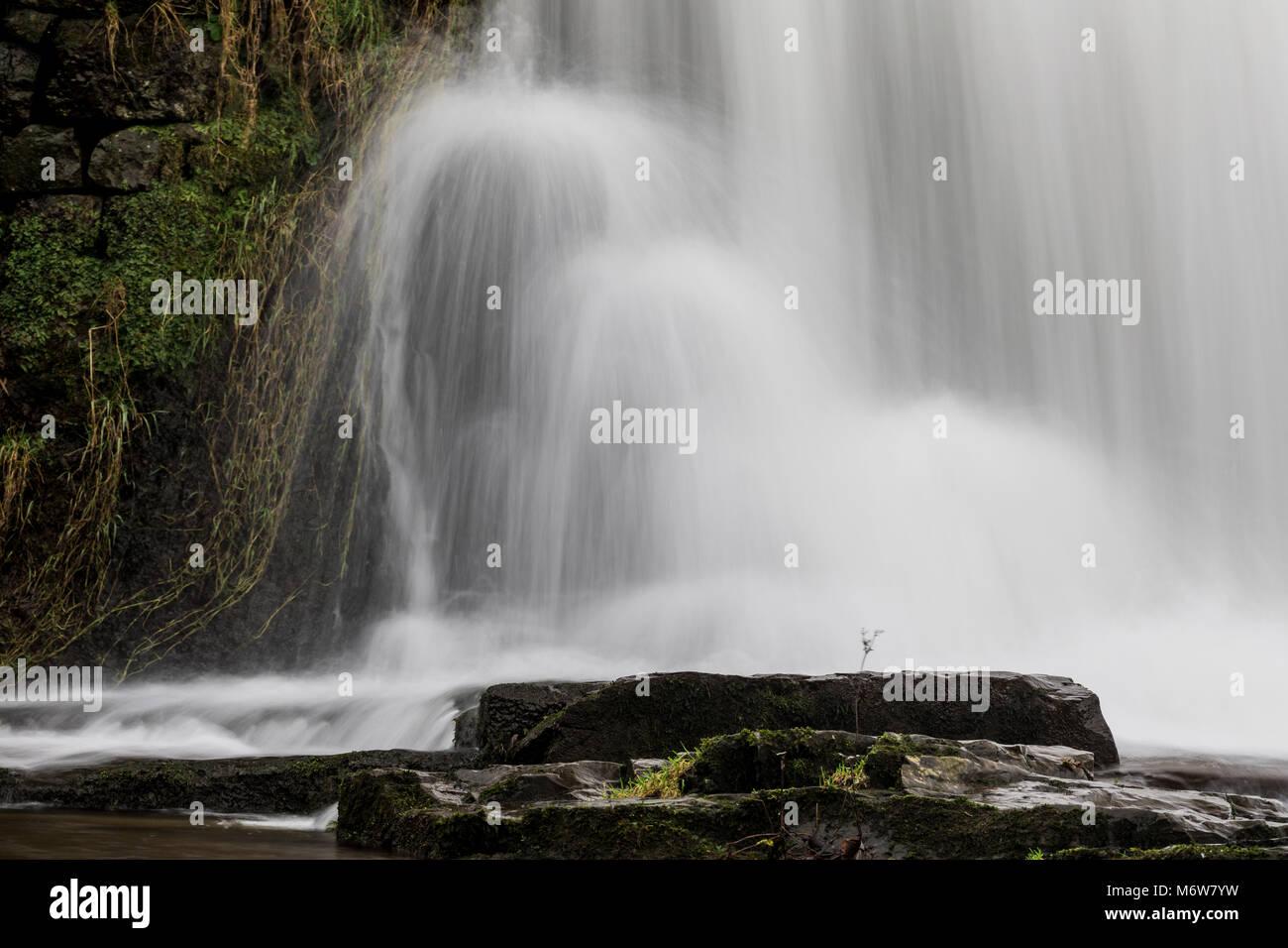 Bouncing waterfall - Stock Image