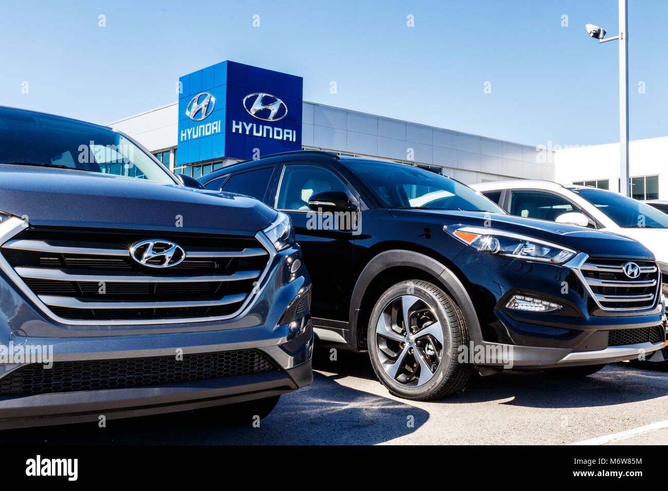 Hyundai Dealership Indianapolis >> Indianapolis Circa March 2018 Hyundai Motor Company Dealership