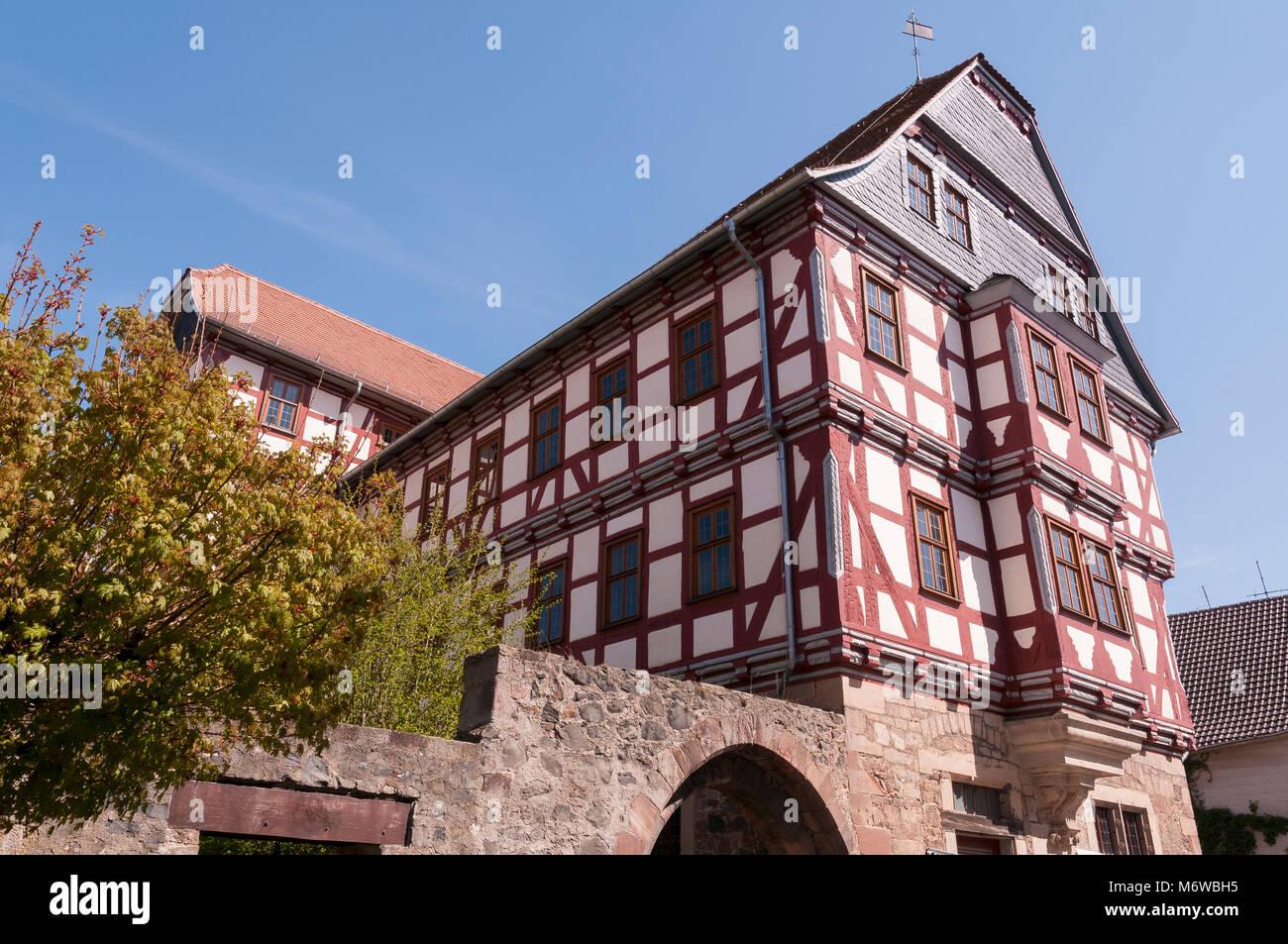 Fritzlar, Hochzeitshaus, Hessen, Deutschland, Europa - Stock Image