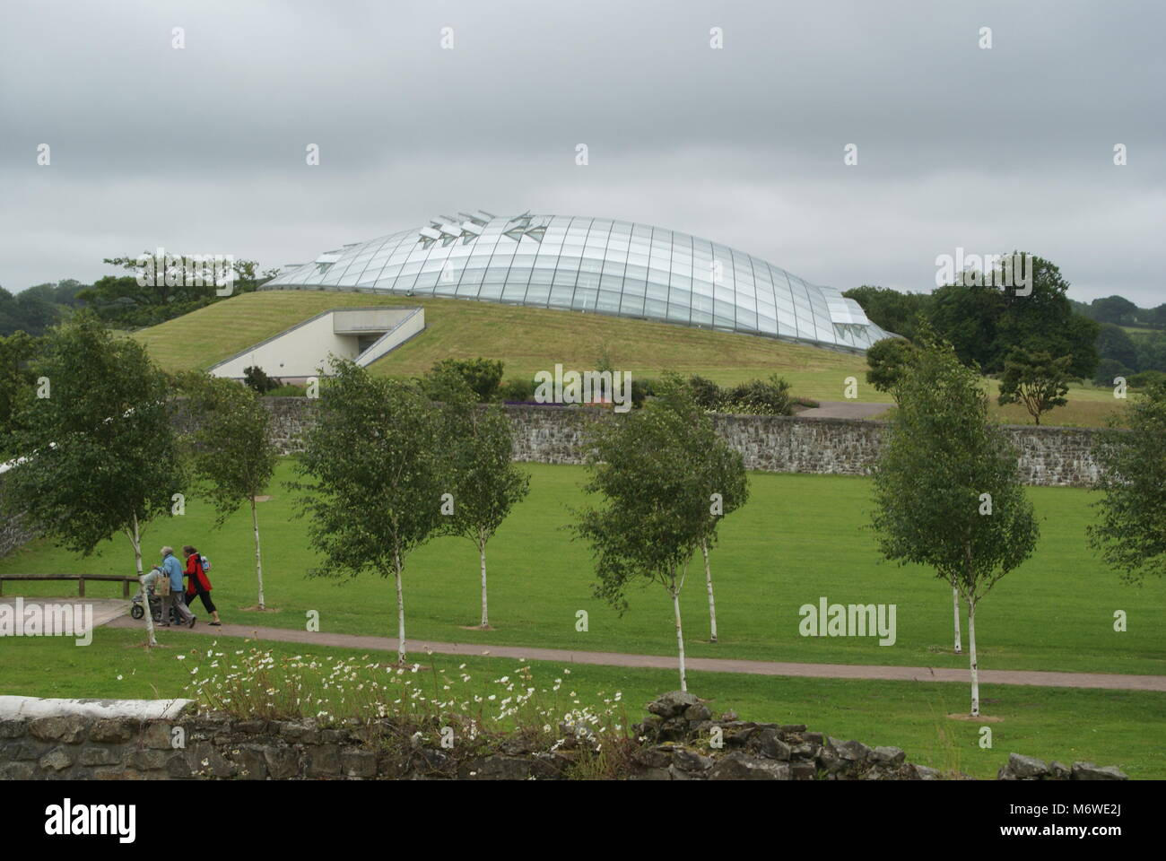 Great glasshouse - Stock Image