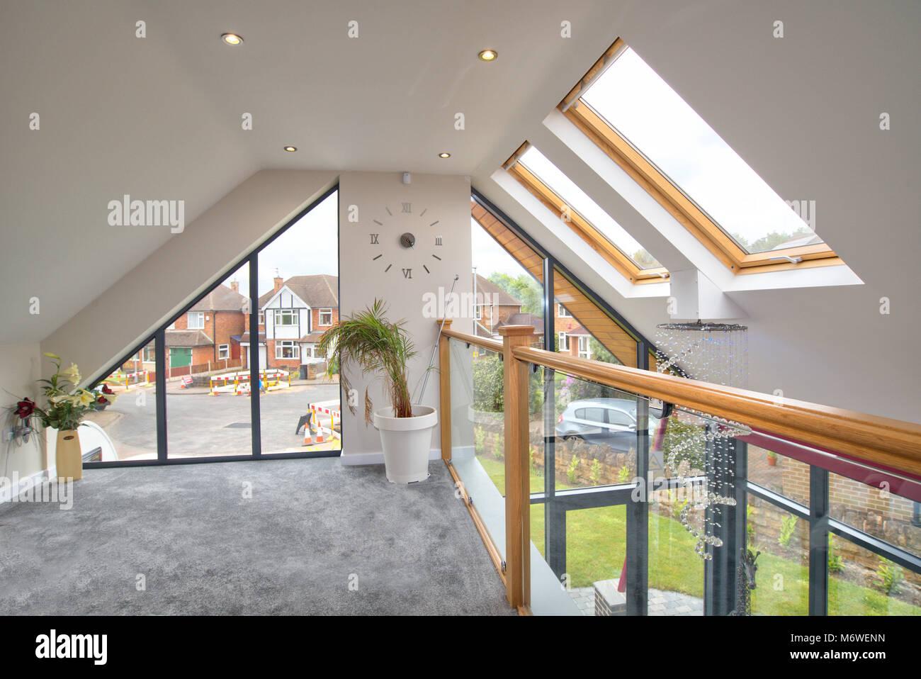 Modern home interior - Stock Image