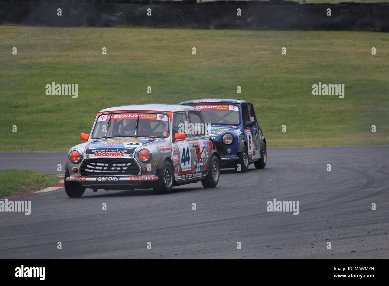Mini Festival At Brands Hatch June 2015 - Stock Image