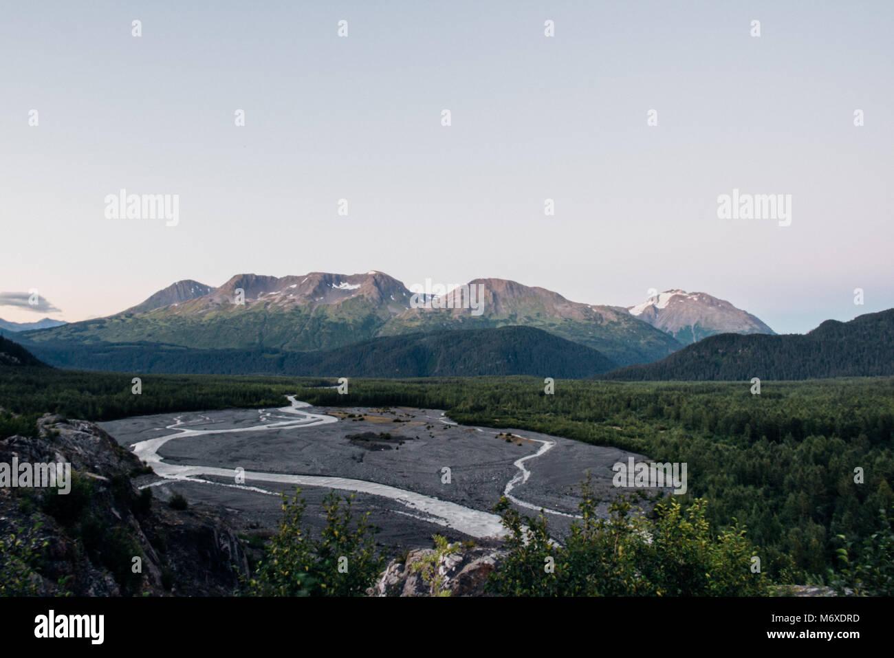 Kenai Fjords National Park - Stock Image