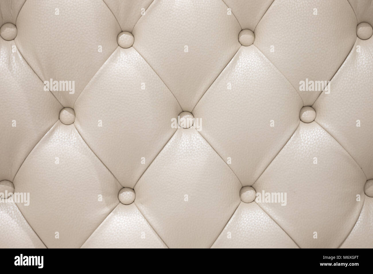Picture of: Beige Leather Sofa Texture As Background Stock Photo Alamy