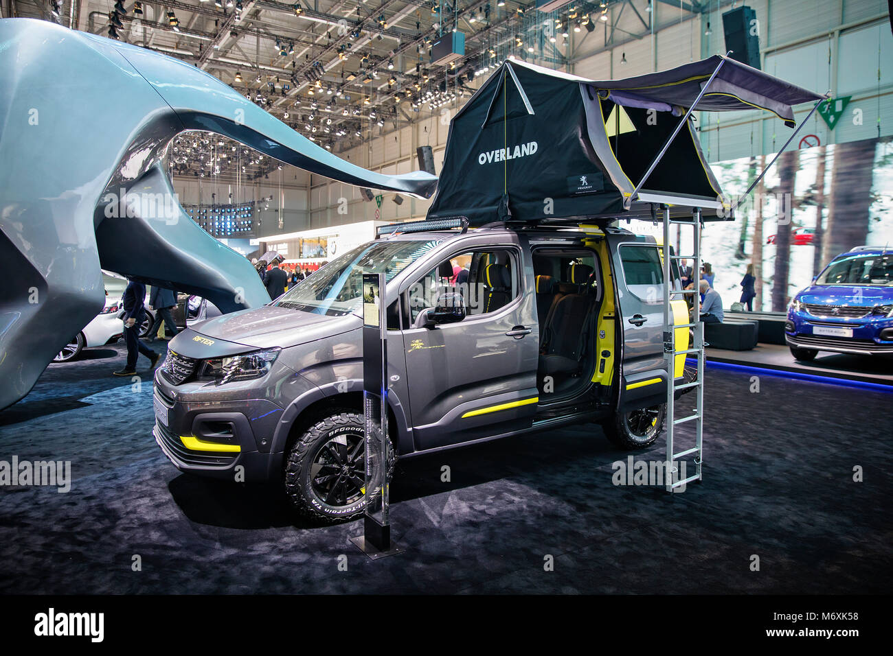 peugeot rifter 4x4 concept stock photo 176377412 alamy. Black Bedroom Furniture Sets. Home Design Ideas