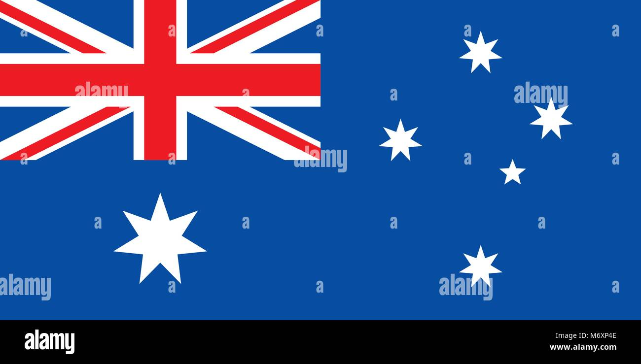 Flag of Australia Stock Vector
