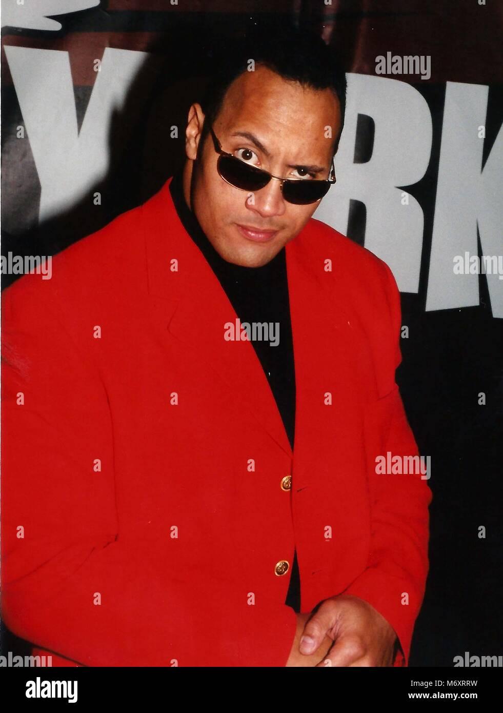 Dwayne Johnson 2000 Photo To By John Barrett Photolink Stock