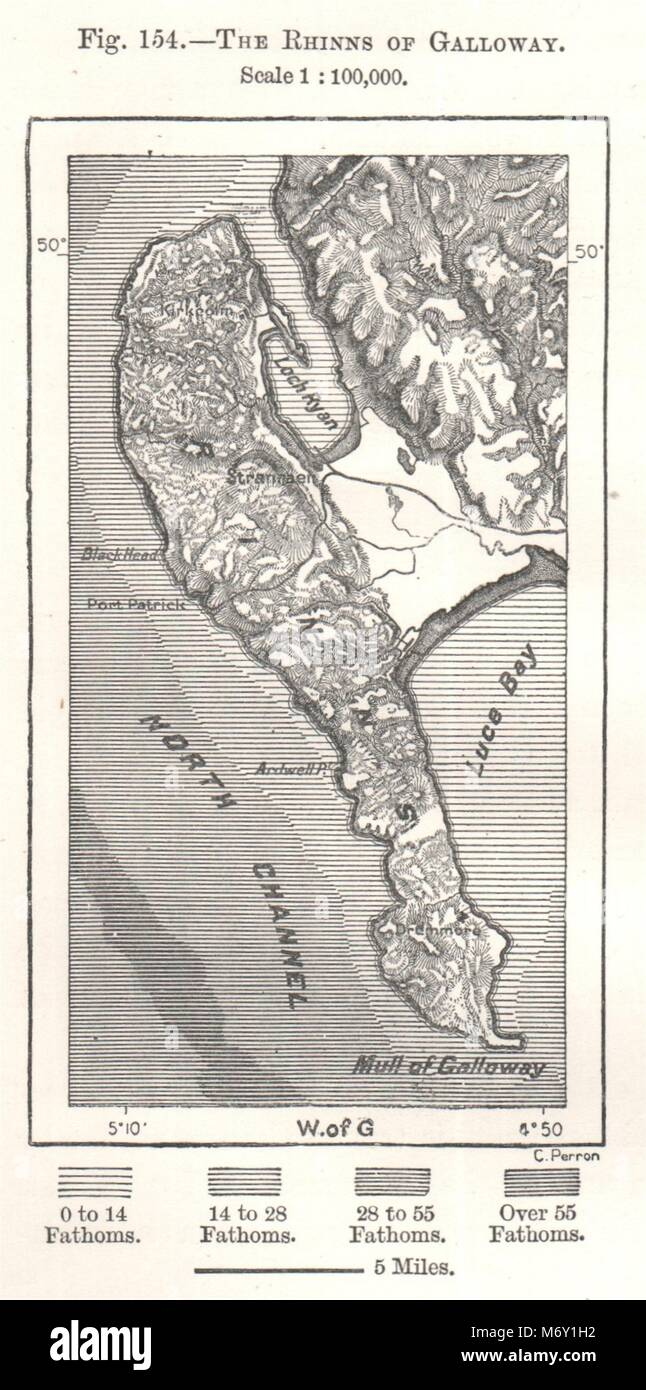 Antiques Sketch Map 1885 Old Antique Vintage Plan Chart The Isle Of Man