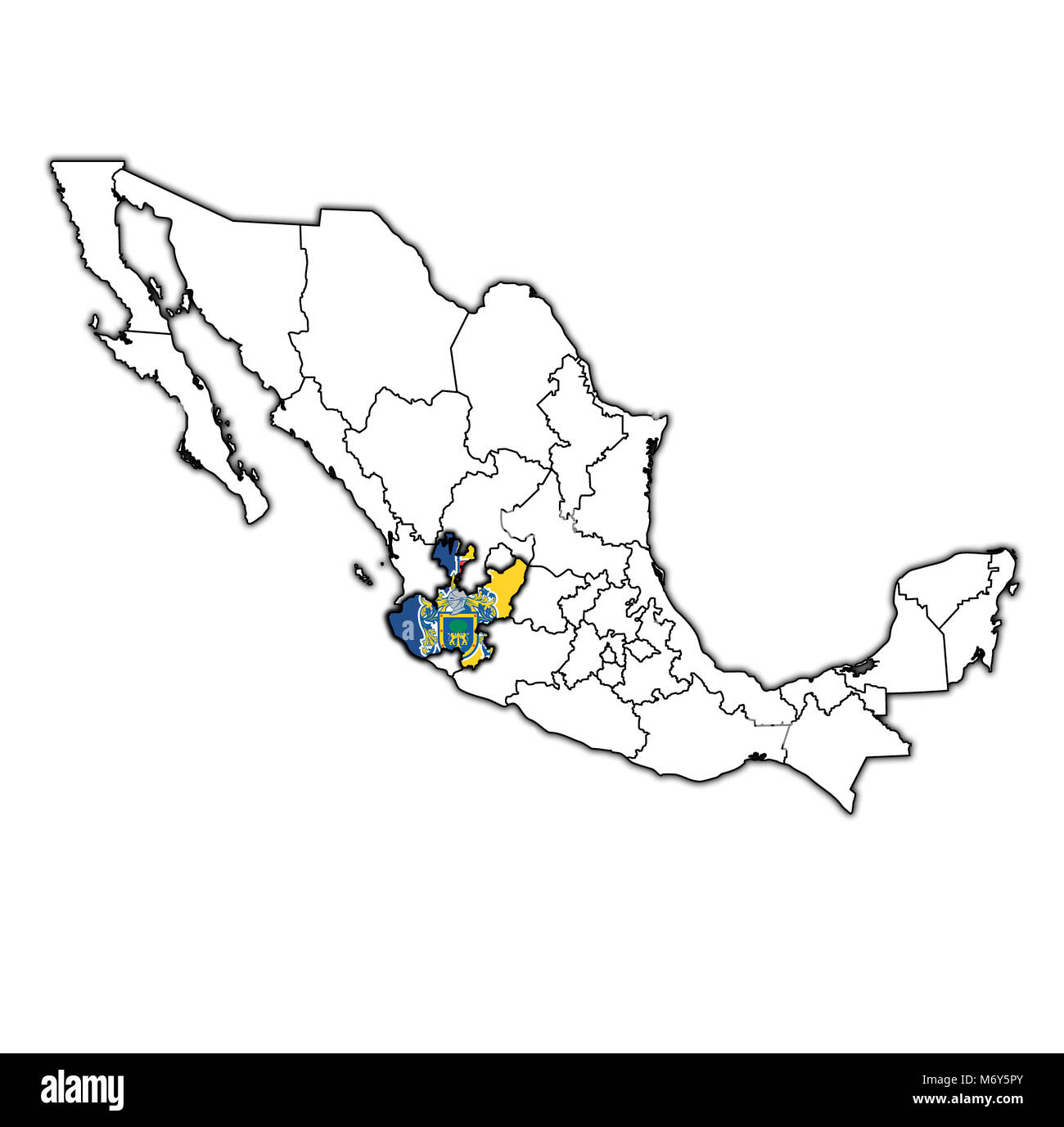 Map Of Jalisco Stock Photos & Map Of Jalisco Stock Images ... Map Of State Jalisco Mexico on san agustin jalisco mexico map, state of chihuahua mexico map, state of durango mexico map, state of hidalgo mexico map, state of veracruz mexico map, state of sinaloa mexico map, state of coahuila mexico map, state of yucatan mexico map, state of sonora mexico map, state of queretaro mexico map, state of jalisco mexico flag, guadalajara mexico map, state of puebla mexico map, state of chiapas mexico map,