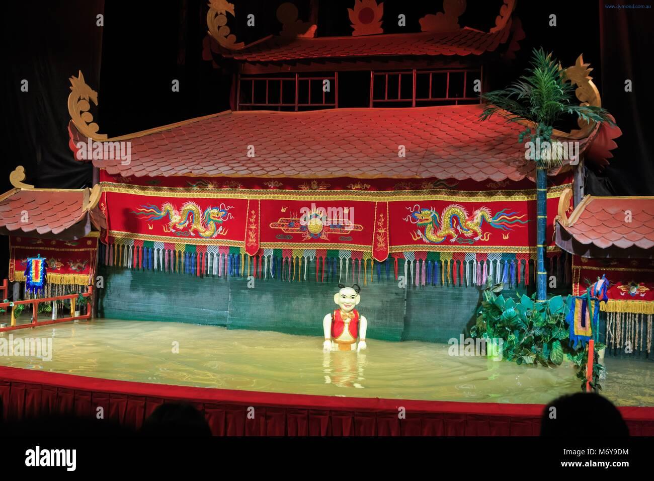 golden dragon water puppet theater saigon