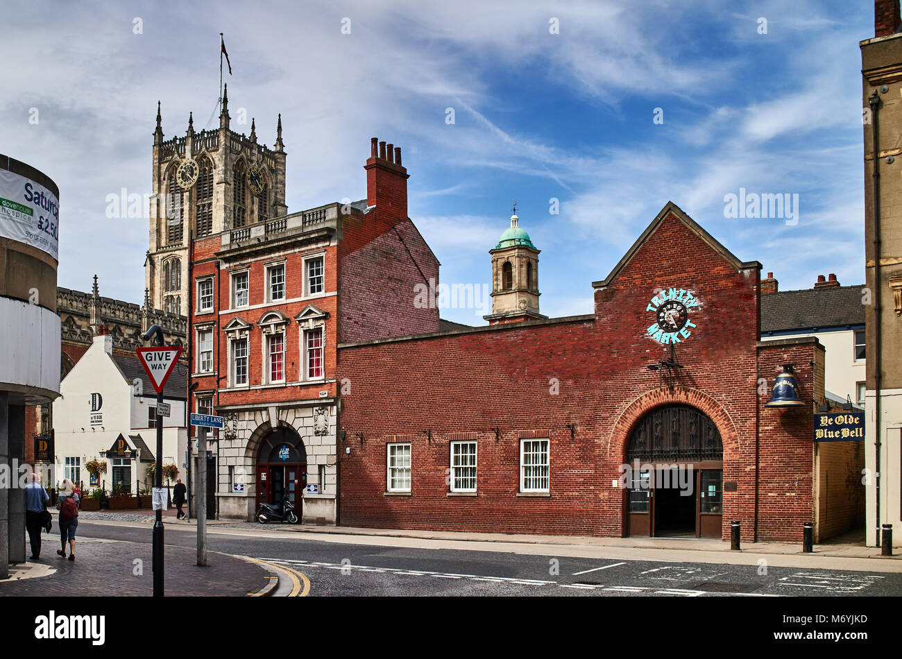 England, East Riding of Yorkshire, Kingston upon Hull city, Holy Trinity Church - Stock Image