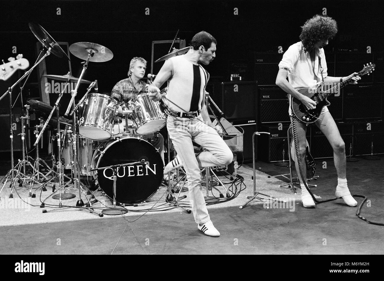 Freddie Mercury Live Aid High Resolution Stock Photography And Images Alamy