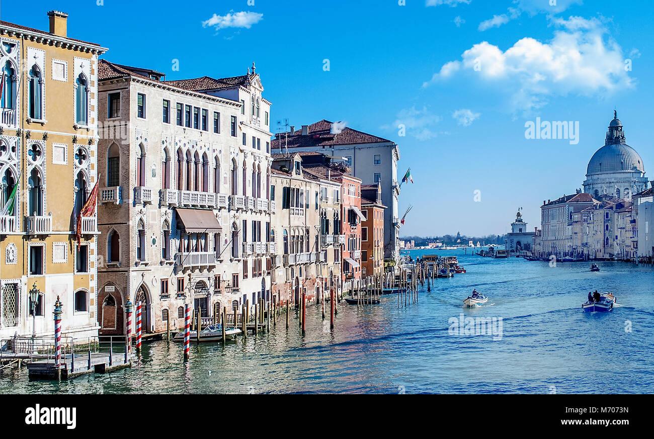 Grand Canal,Venice,Italy Stock Photo
