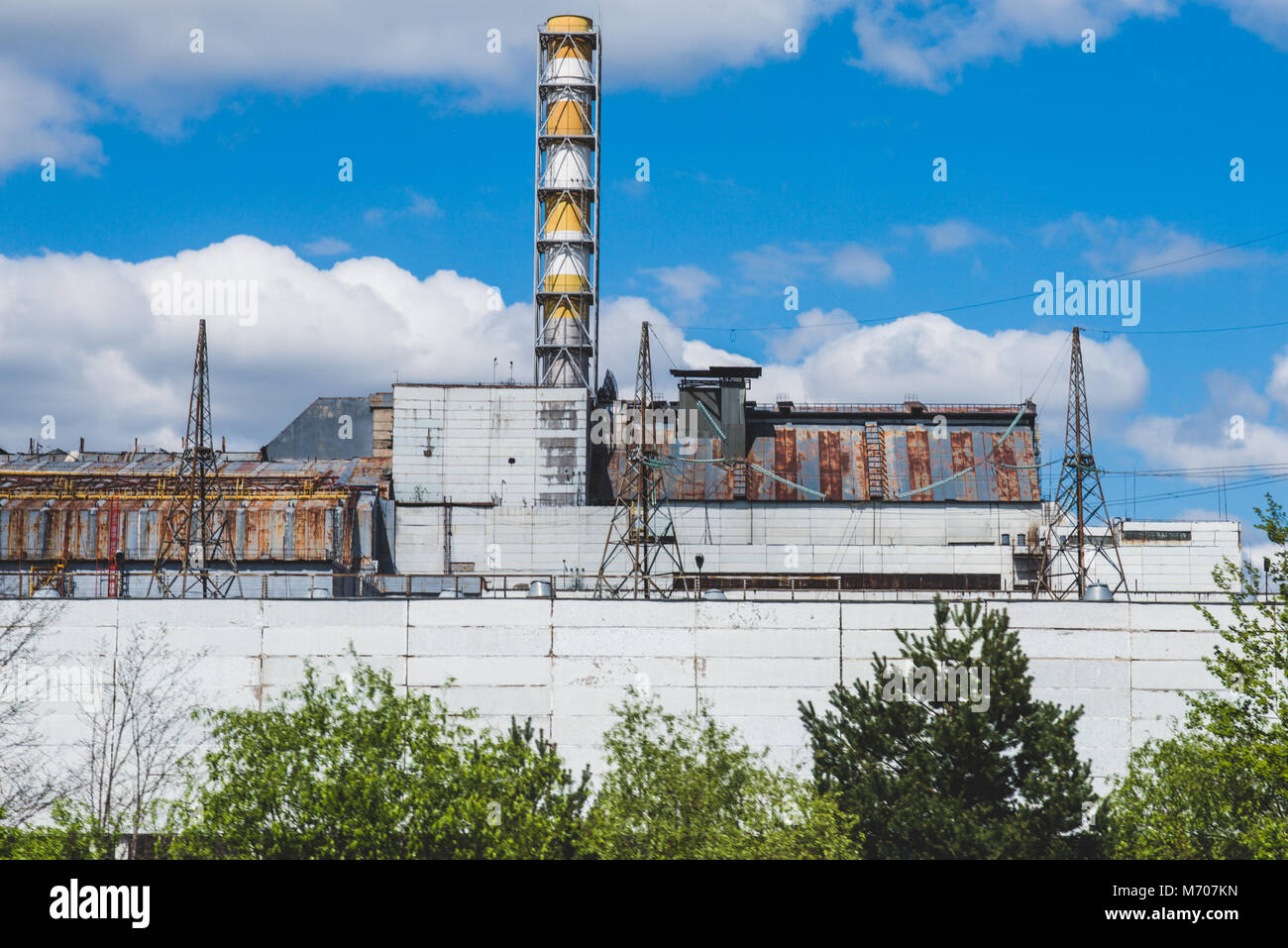 Ukraine, Chernobyl: Abandoned vehicles, houses and places from the evacuated Chernobyl exclusion zone. Photo: Alessandro - Stock Image