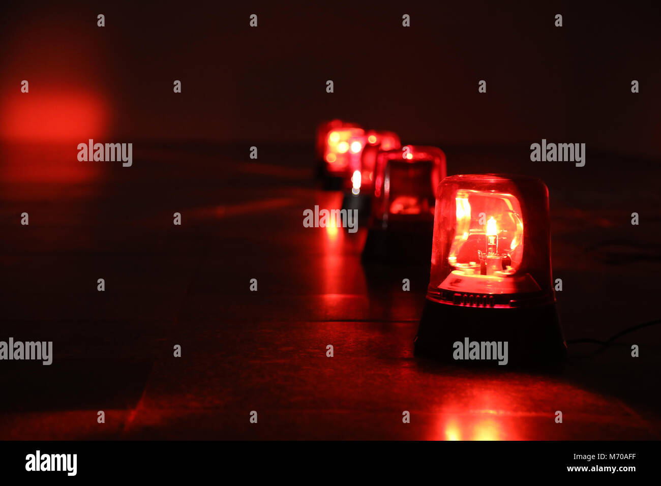 Flashing Red Lights Stock Photos Images Brakelight Flasher Brake Light Pulsing Background With Big Alarm Image