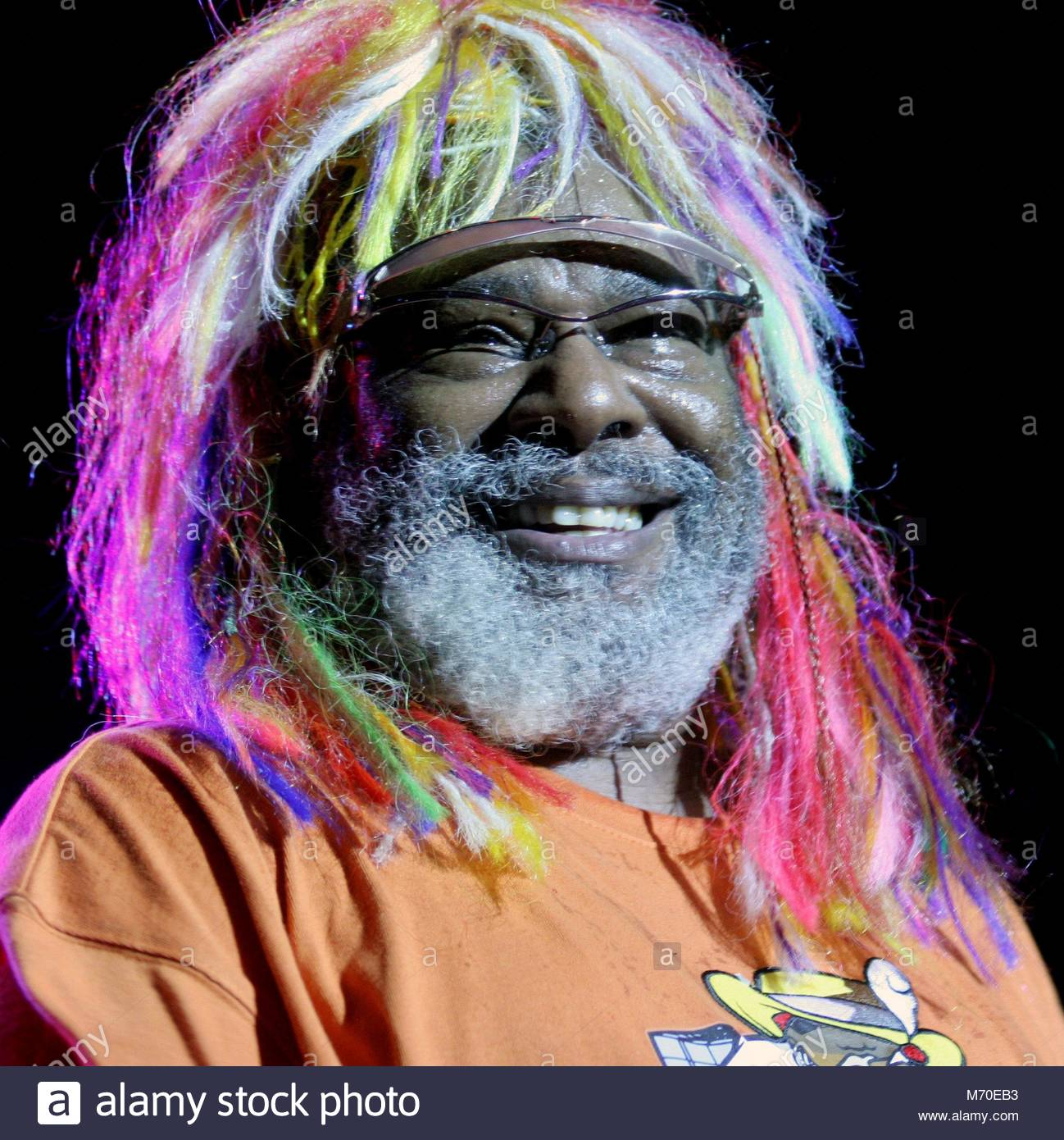 George Clinton performs at Musikfest in Bethlehem, PA on Saturday, Aug. 13, 2005. RTHineline / MediaPunch - Stock Image