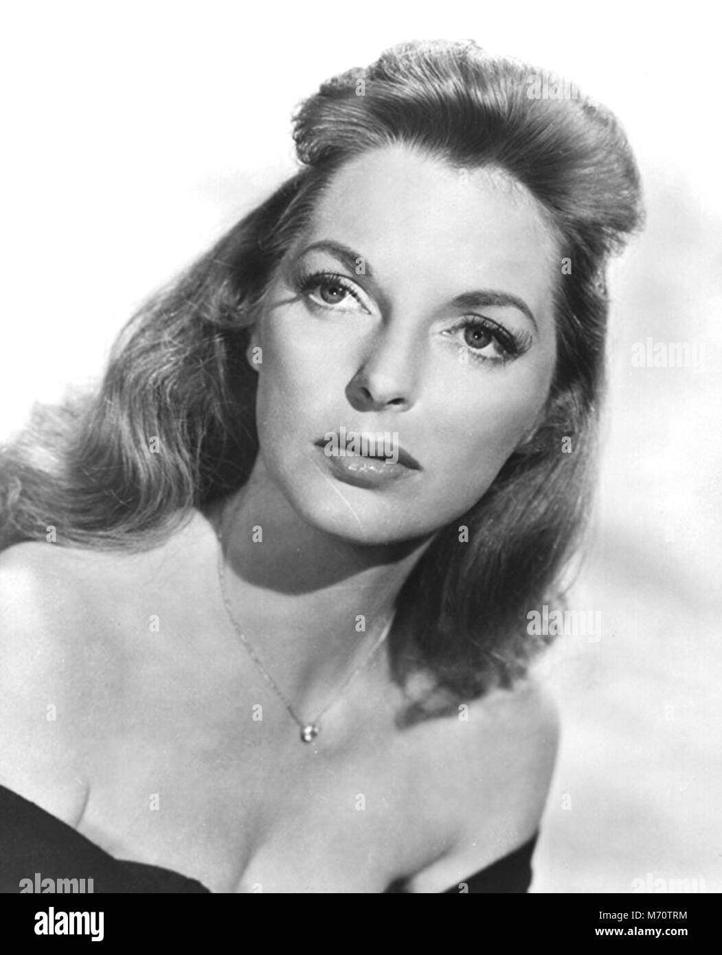 A QUESTION OF ADULTERY 1958 Eros Films production with Julie London - Stock Image