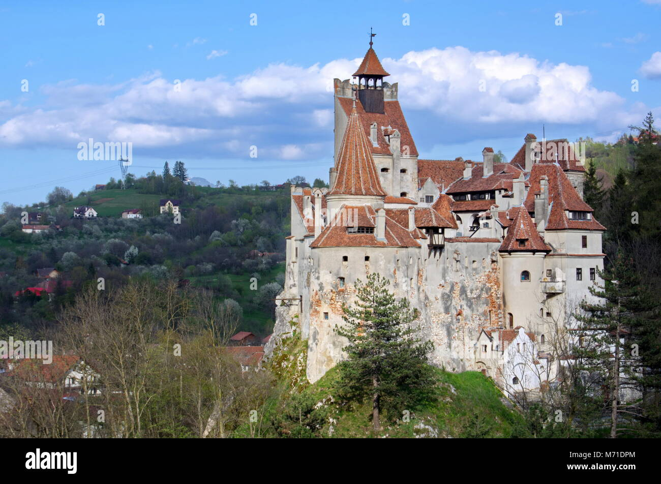 Bran Castle Dracula Castle Draculas Castle Brasov Romania Stock Photo Alamy