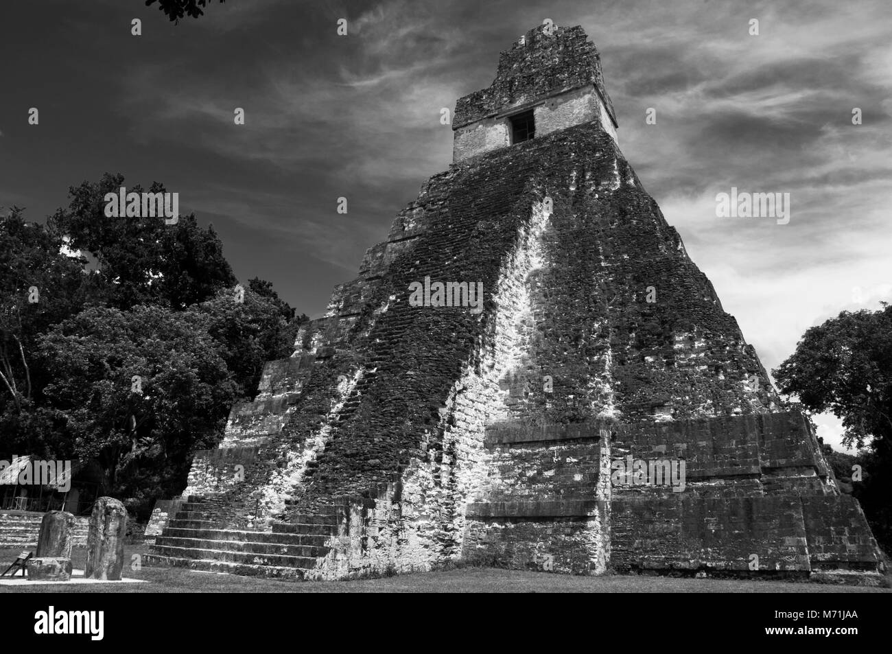 Tikal National Park, Petén, Guatemala. UNESCO Site. - Stock Image