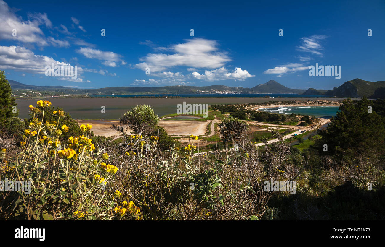 In the land of Messinia - Peloponissos - Greece - Stock Image