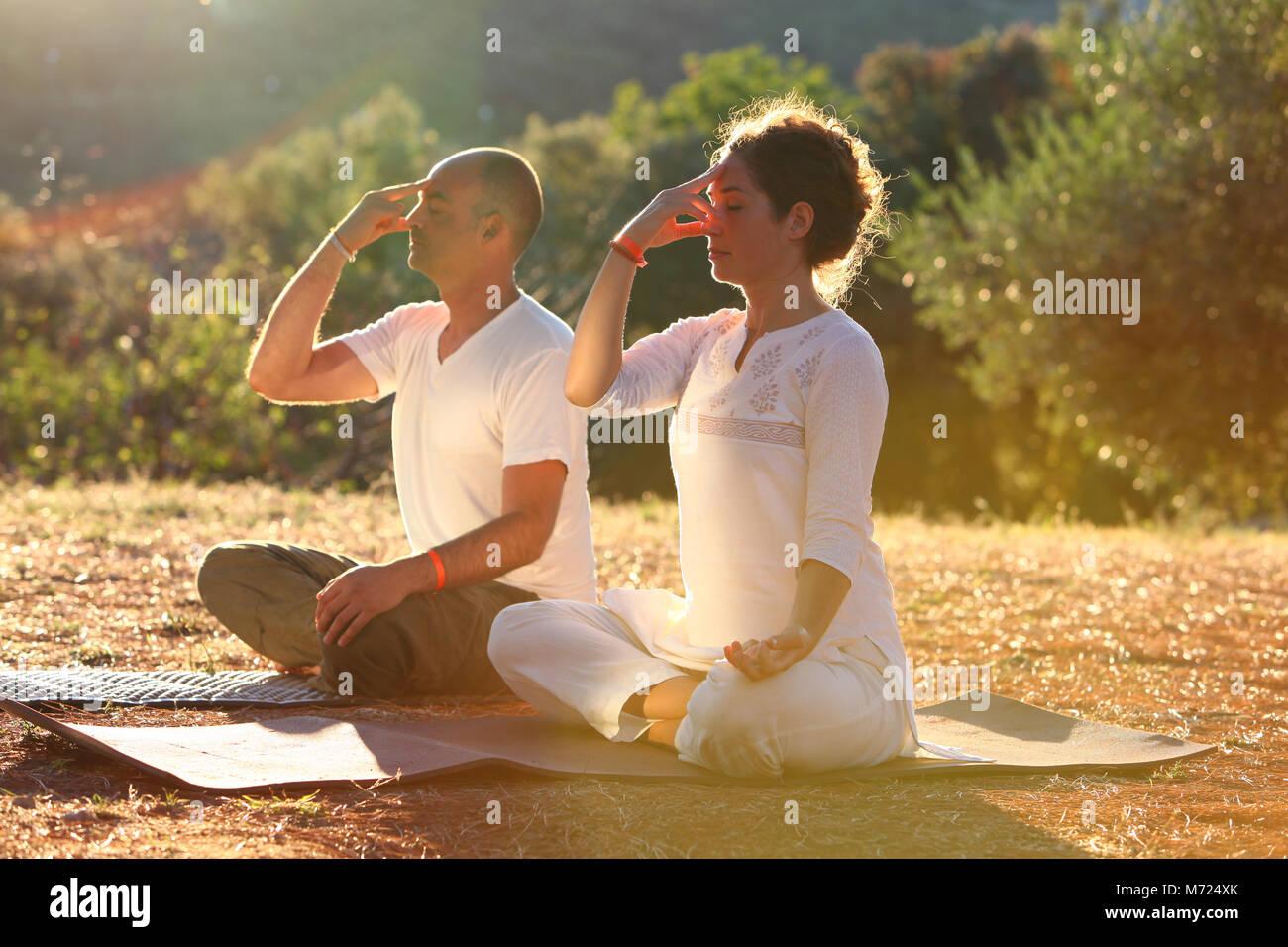 Pranayama Stock Photos & Pranayama Stock Images - Alamy