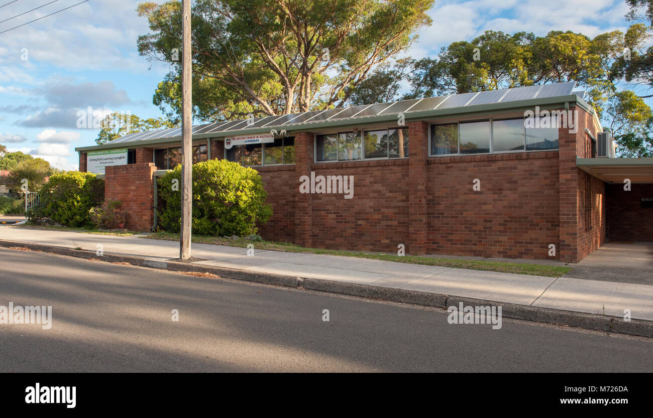 Suburban Caringbah South. Uniting Church of Australia Caringbah. Caringbah South. AUSTRALIA - Stock Image