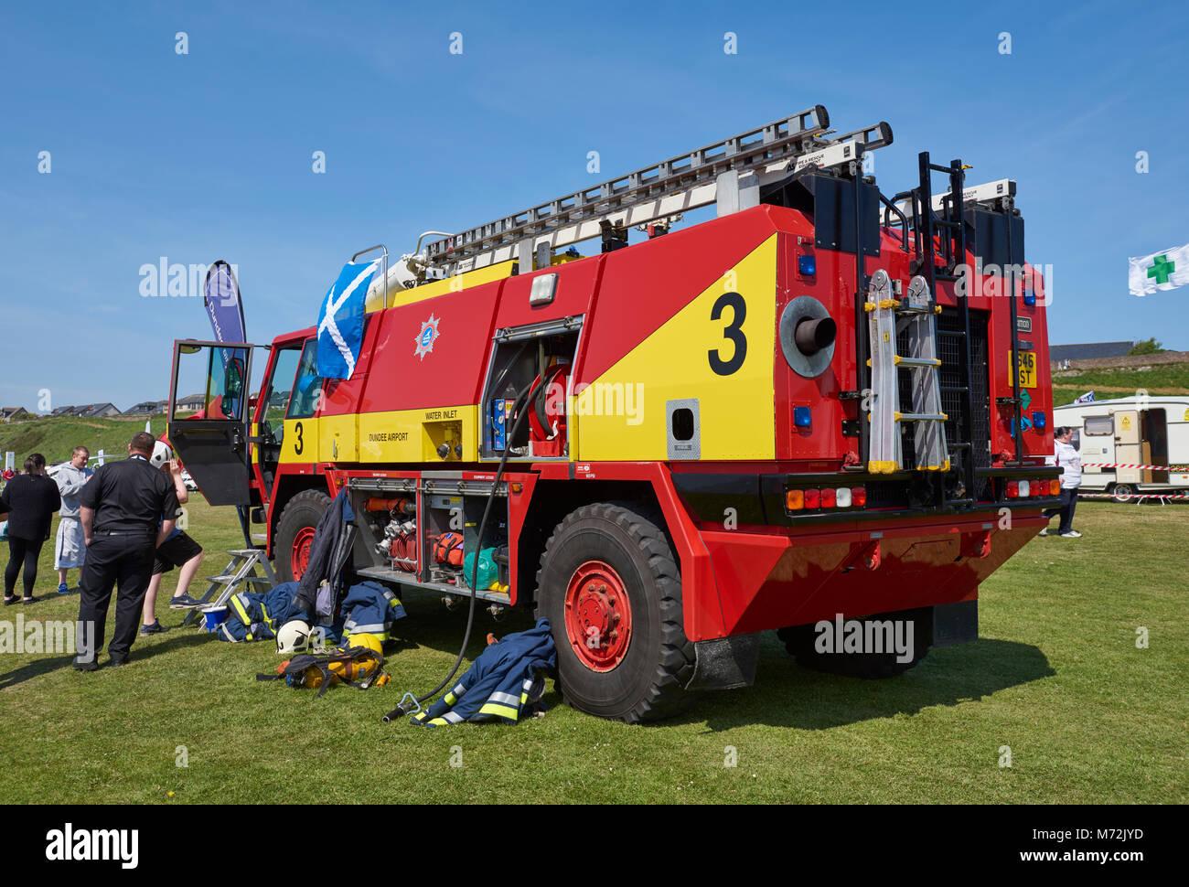Airport Fire Truck Stock Photos & Airport Fire Truck Stock