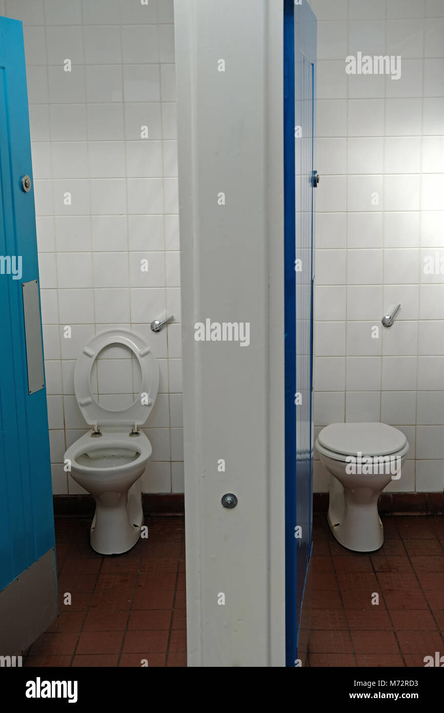 Council toilets. - Stock Image