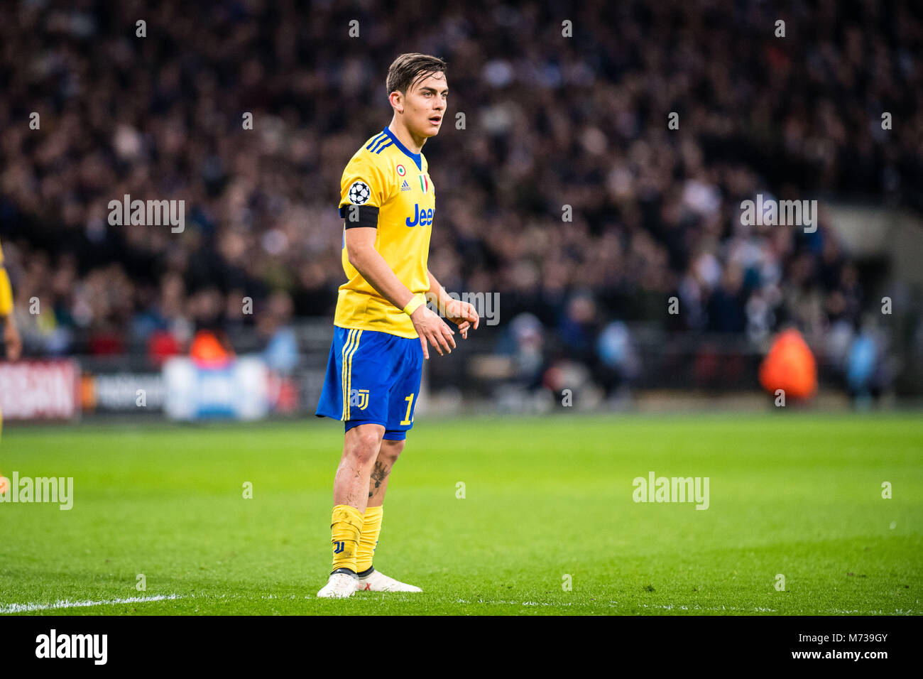 wholesale dealer 6229a 682bf LONDON, ENGLAND - MARCH 07: Paulo Dybala (10) of Juventus ...