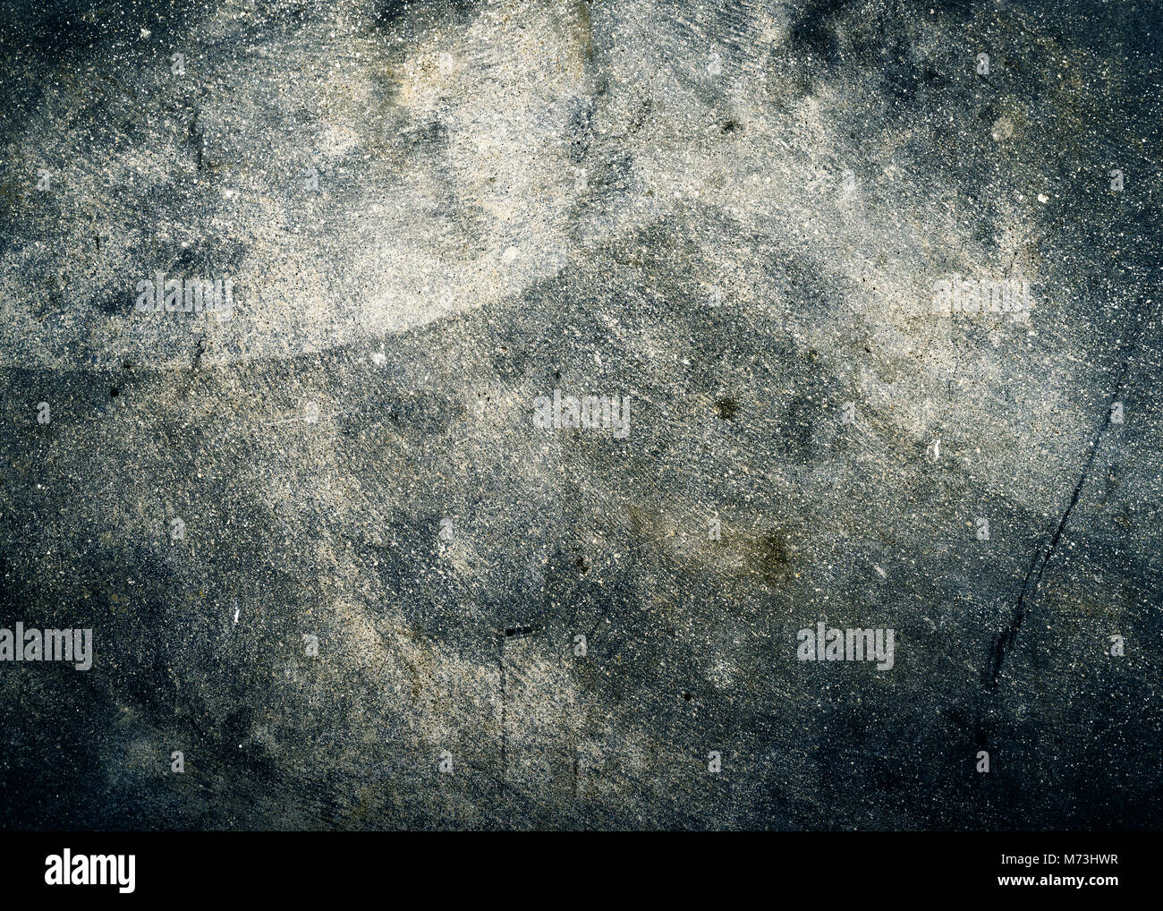 Grungy cement floor texture - Stock Image