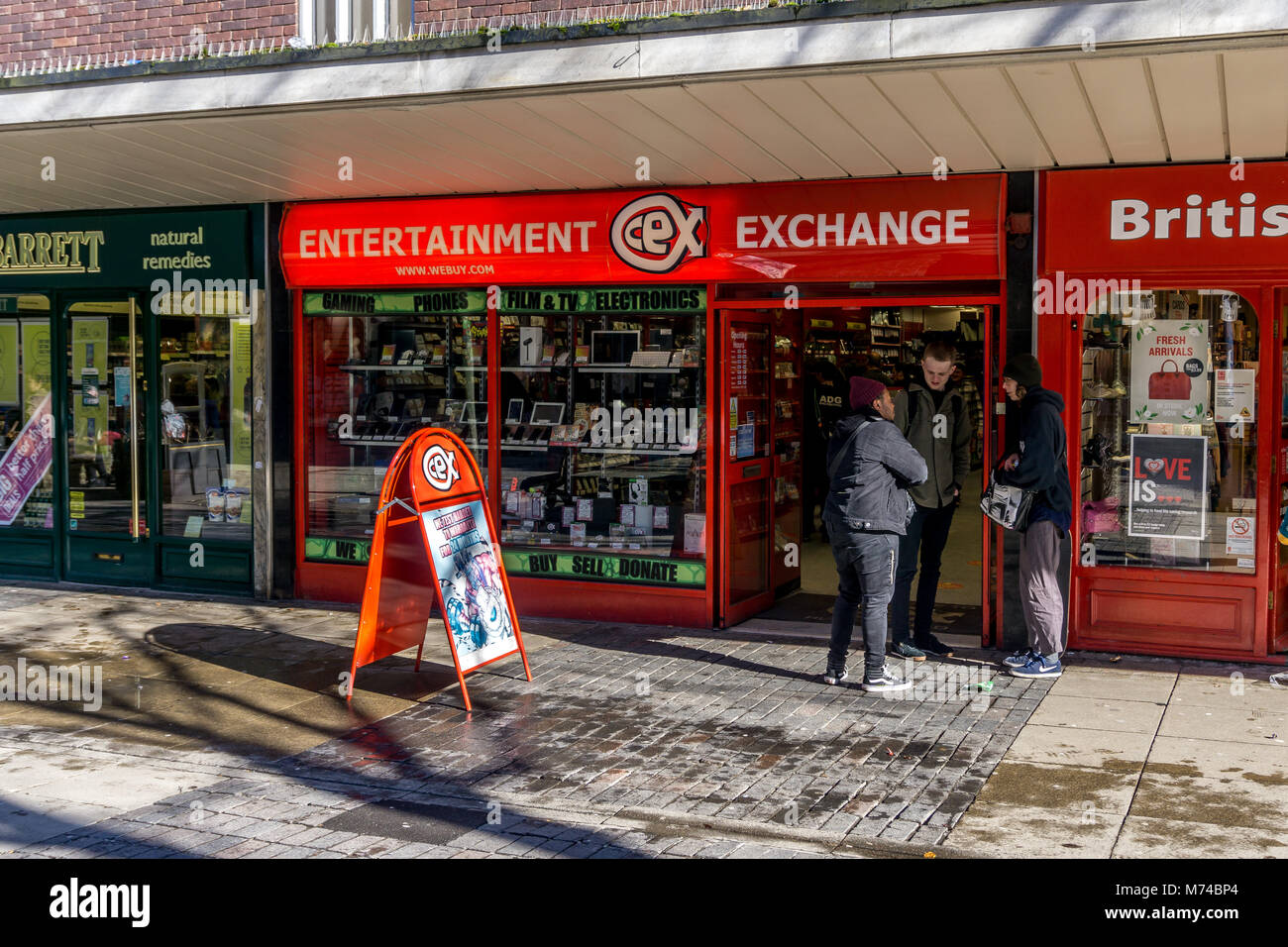 CEX Exchange New Street Huddersfield West Yorkshire England UK