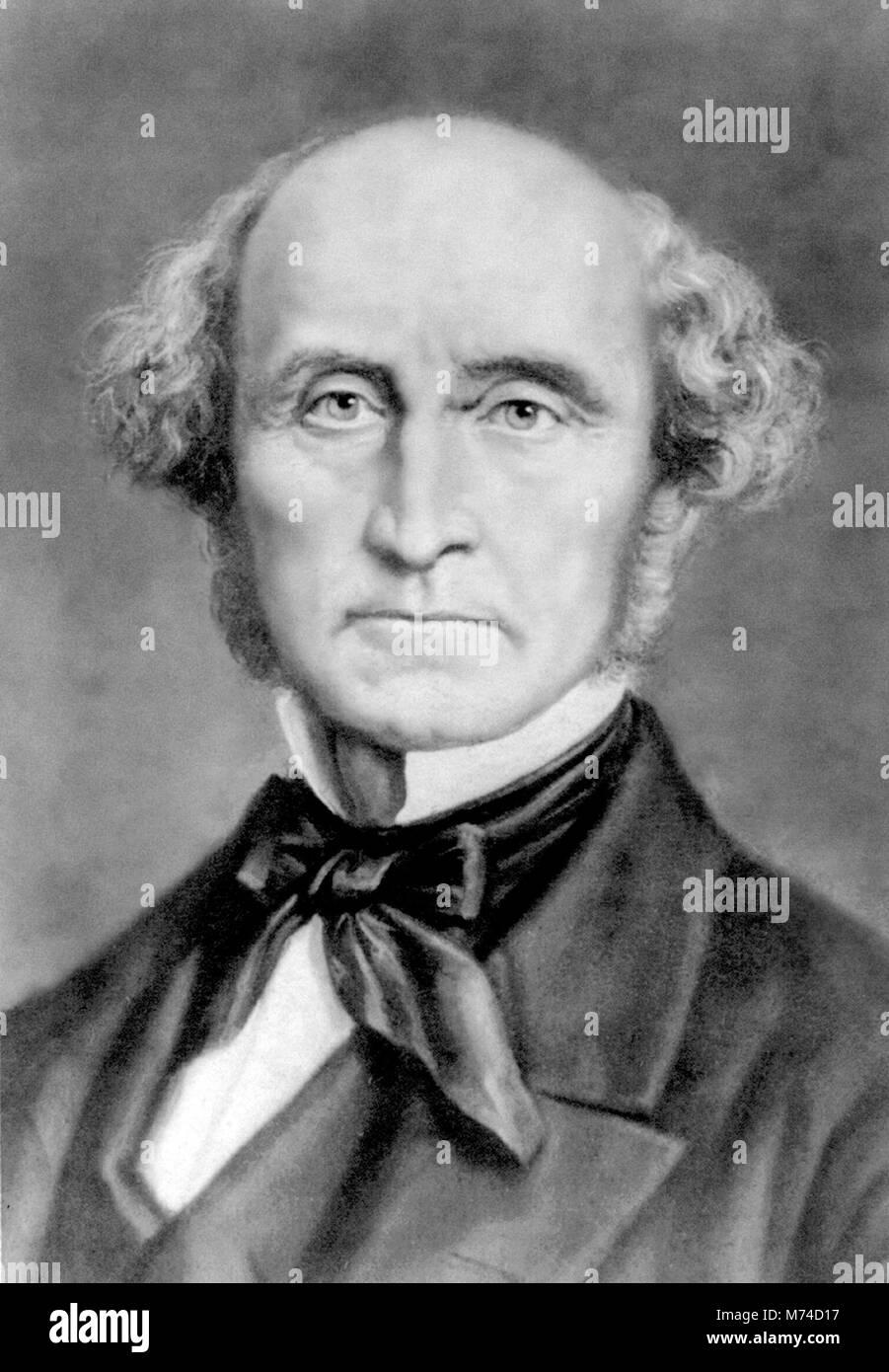 John Stuart Mill (1806-1873) - Stock Image