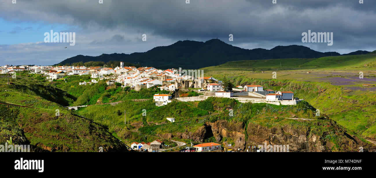 Vila do Porto, Santa Maria island. Azores, Portugal Stock Photo