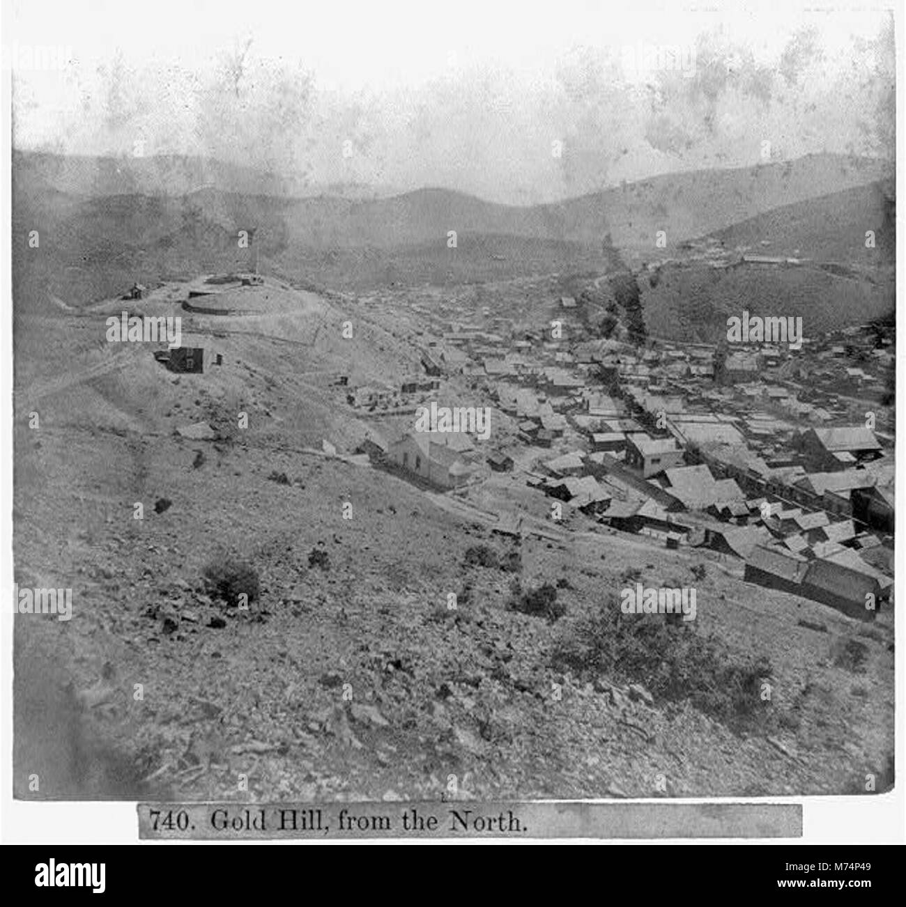 Gold Hill, from the North LCCN2002723120 - Stock Image