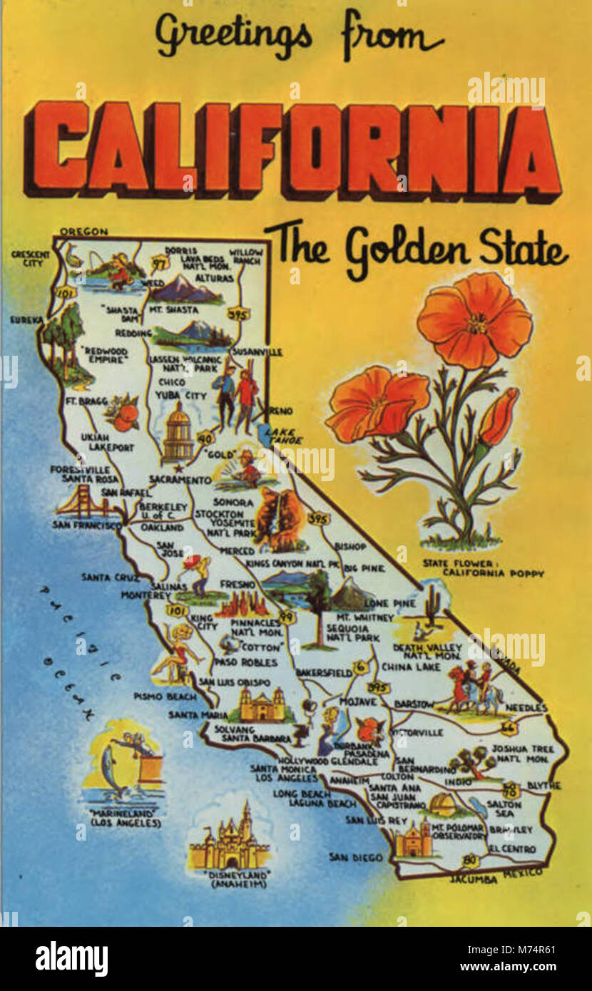 Greetings from california stock photos greetings from california greetings from california the golden state nby 437134 stock image m4hsunfo